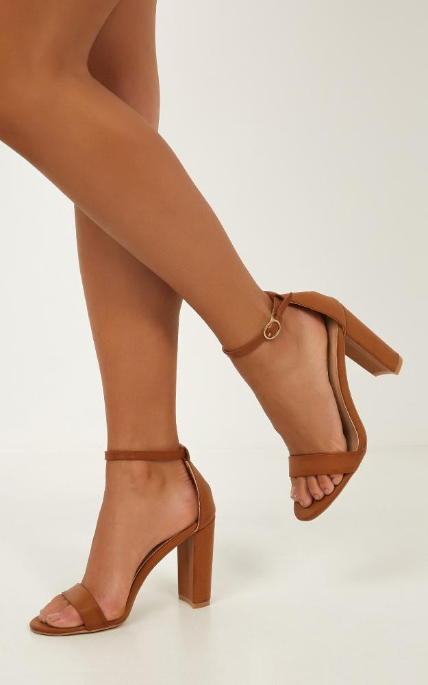 Billini - Jessa heels in tan - 5, Tan, hi-res image number null