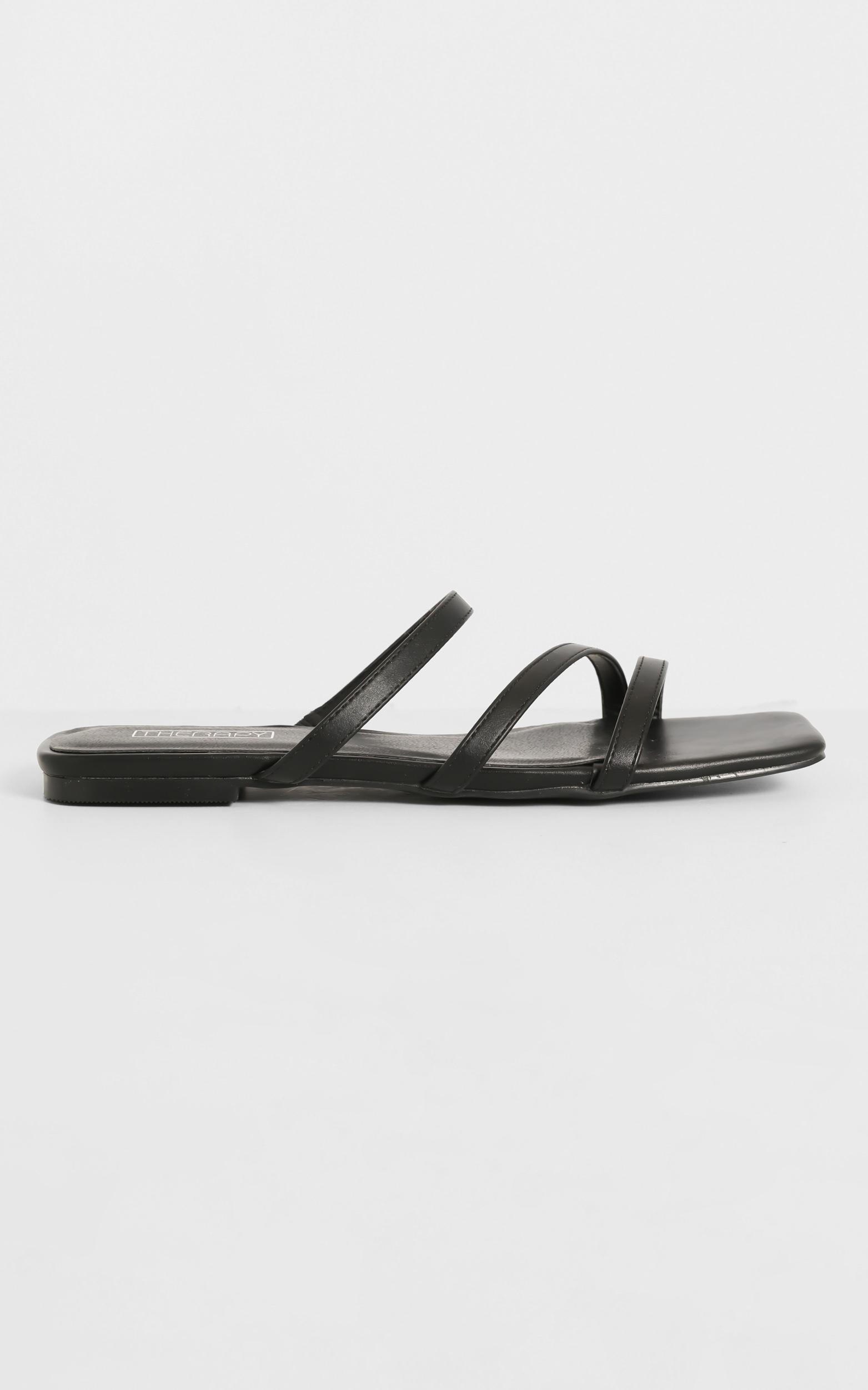 Therapy - Garza Sandals in Black - 5, Black, hi-res image number null
