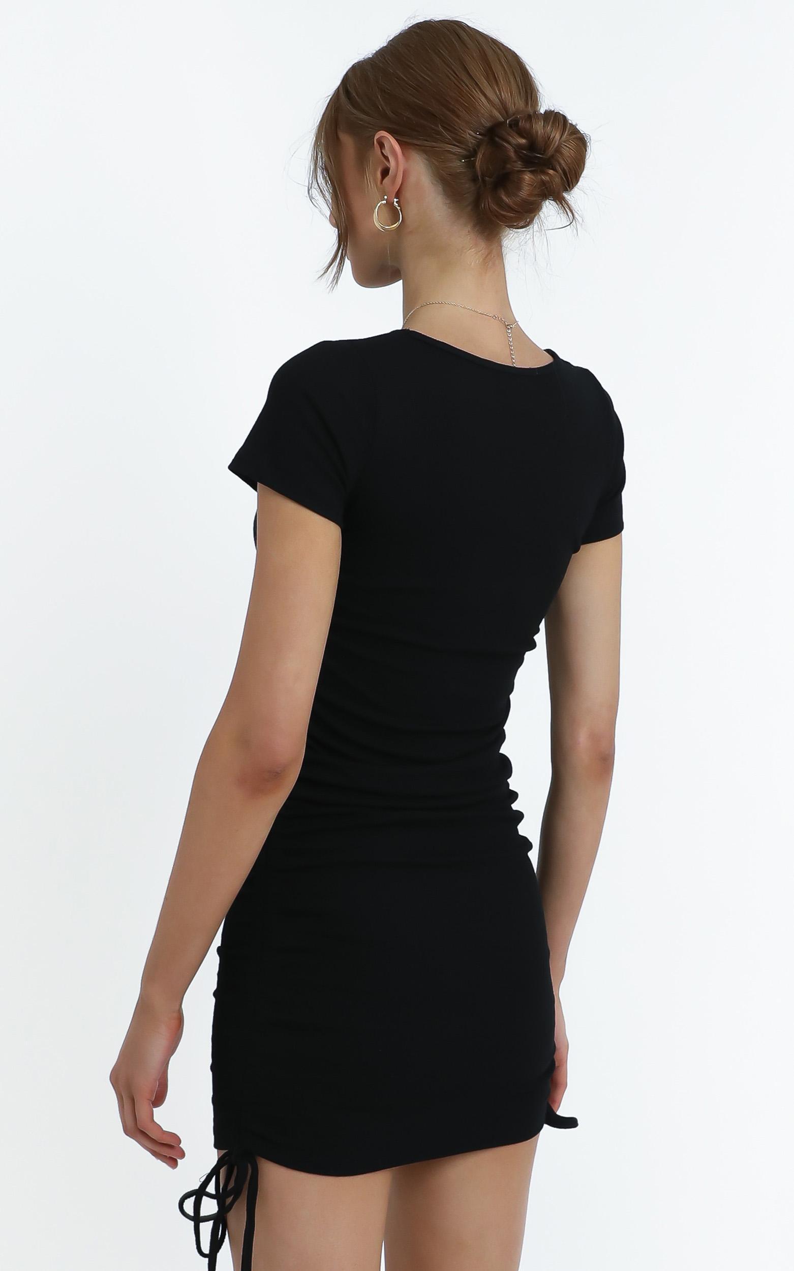 Arnie Dress in Black - 12 (L), BLK1, hi-res image number null