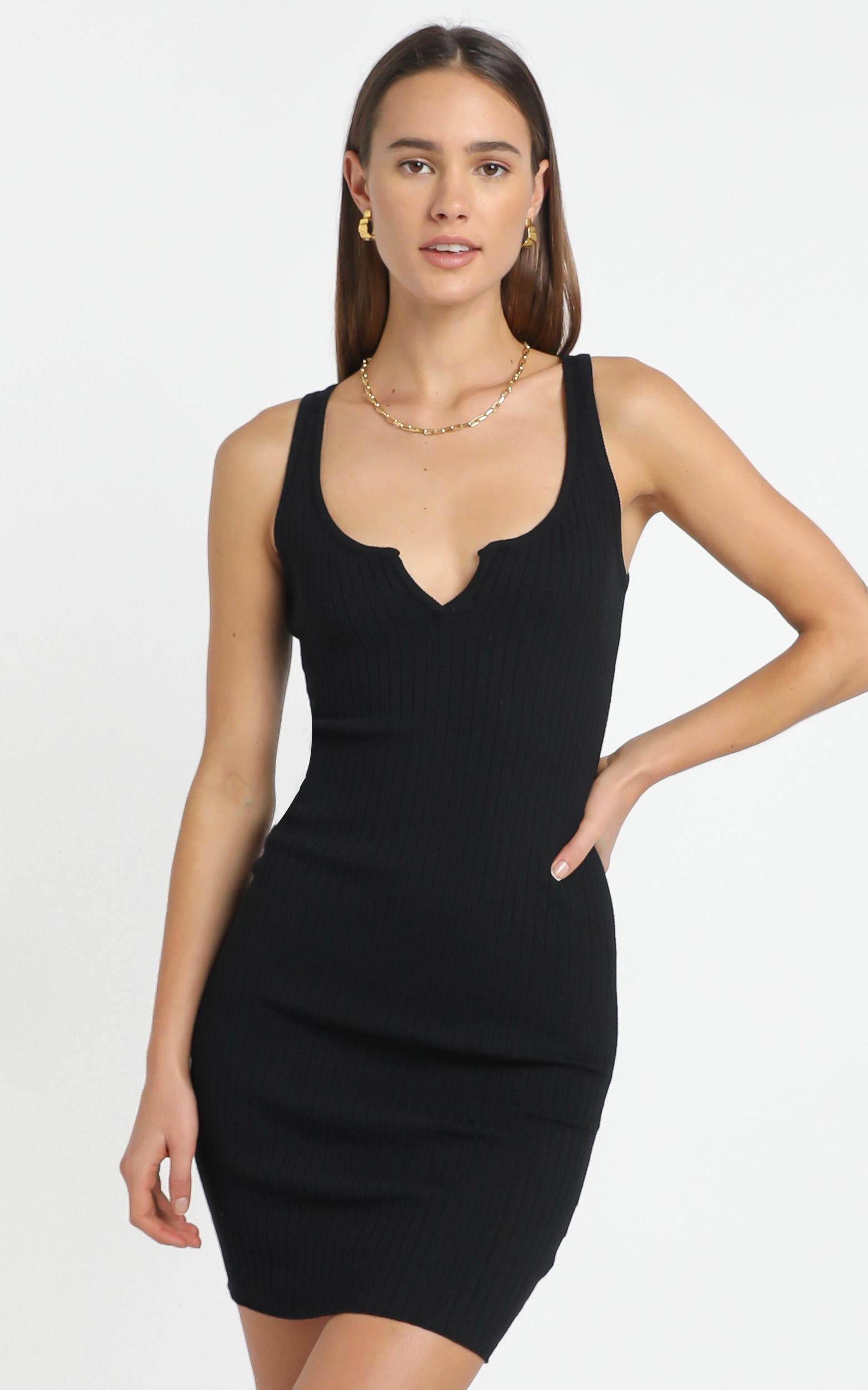 Emmy Dress in Black - 12 (L), BLK1, hi-res image number null