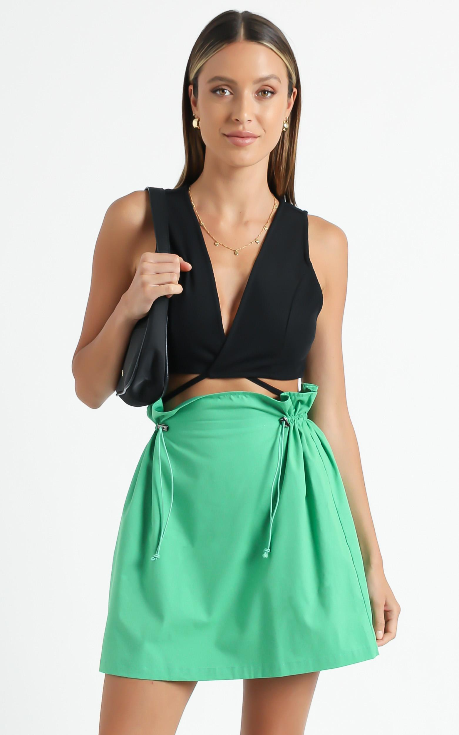 Kinaros Skirt in Green - 6 (XS), Green, hi-res image number null