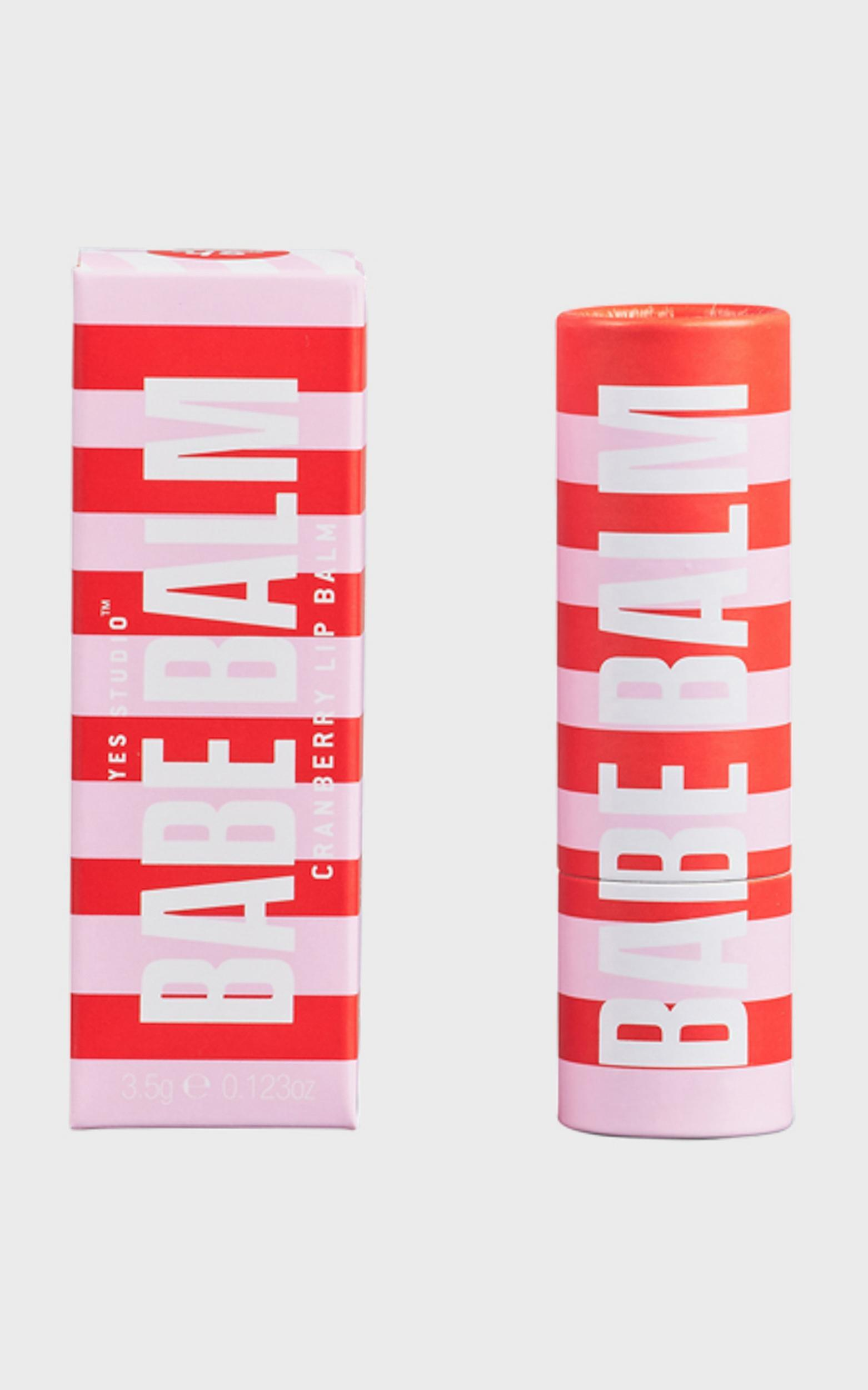 Yes Studio - Lip Balm Cranberry , , hi-res image number null