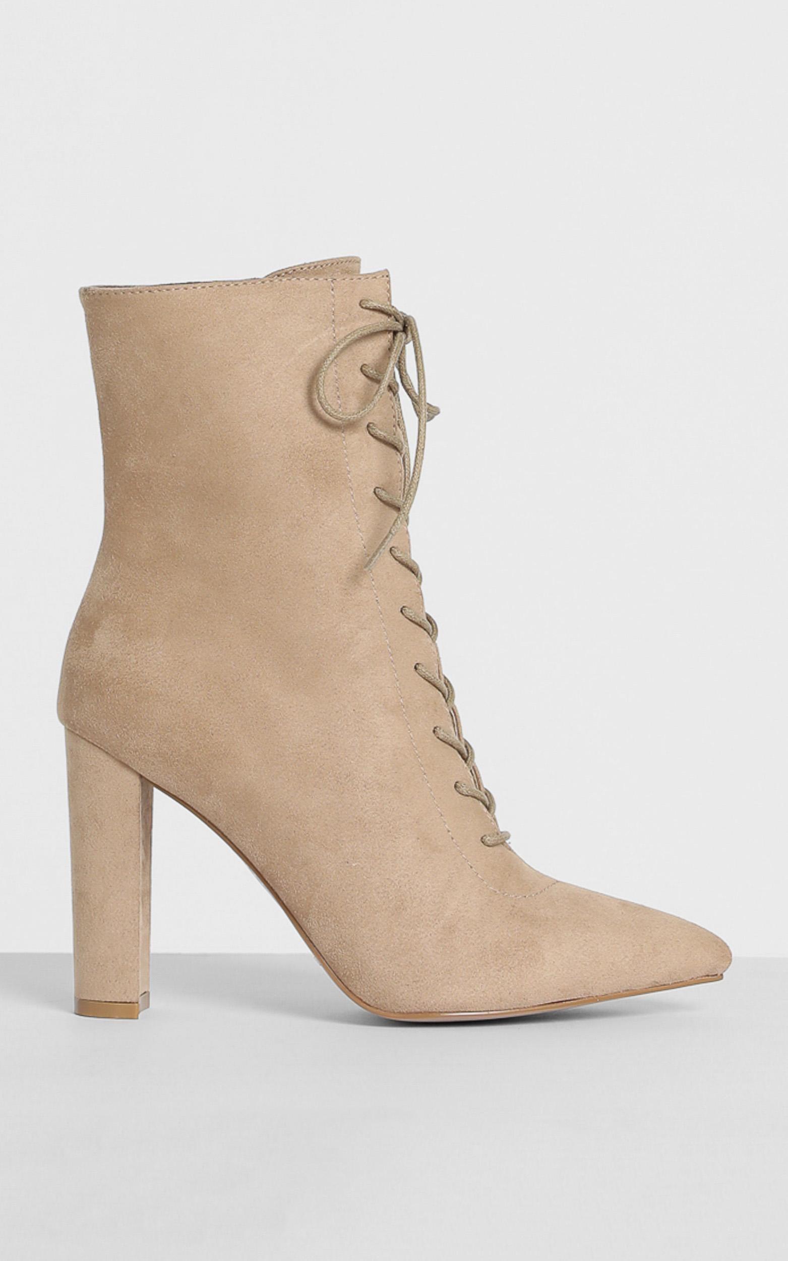 Billini - Kassia Boots in sand micro - 5, Tan, hi-res image number null