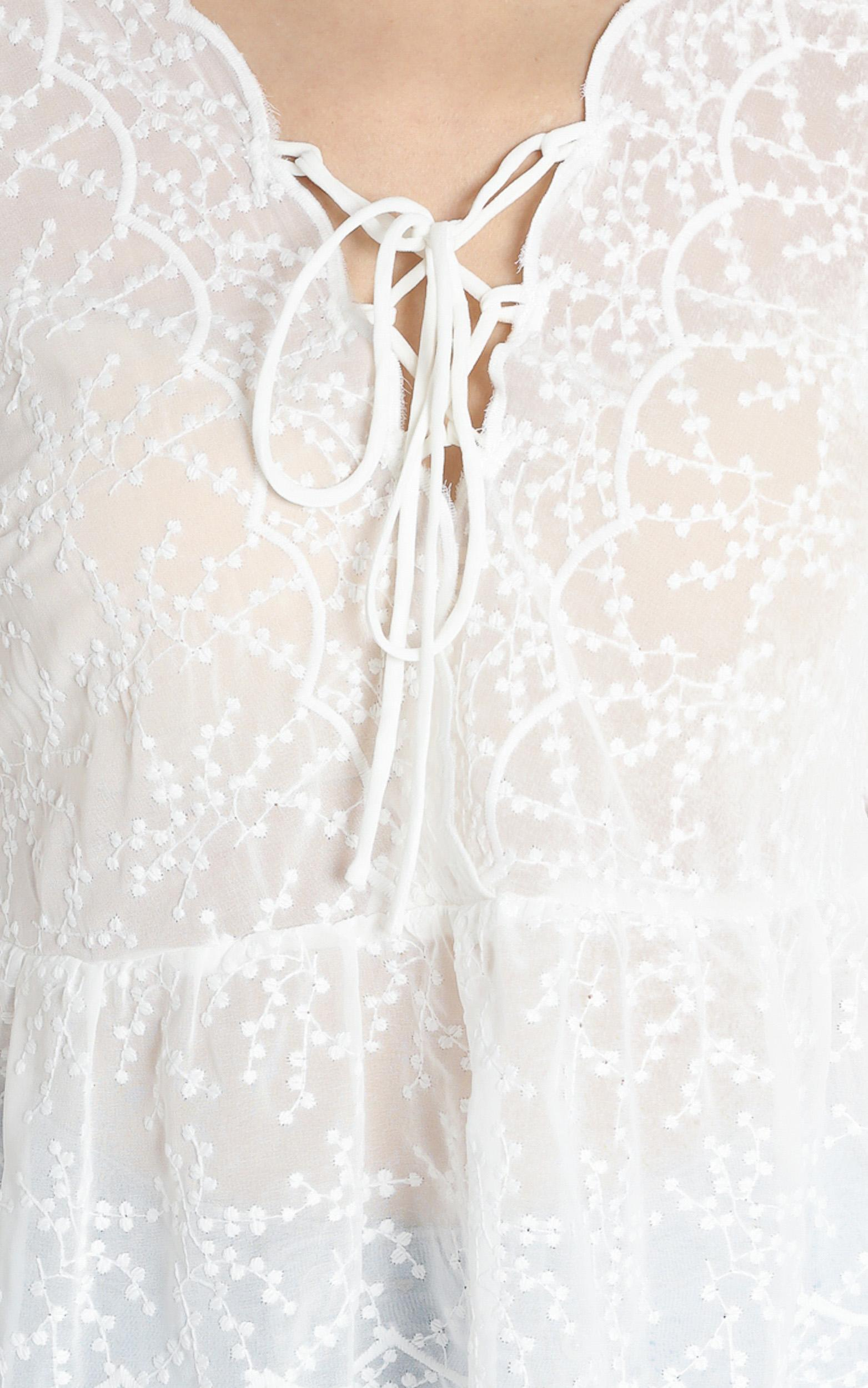 Nadia Top in White - 6 (XS), White, hi-res image number null