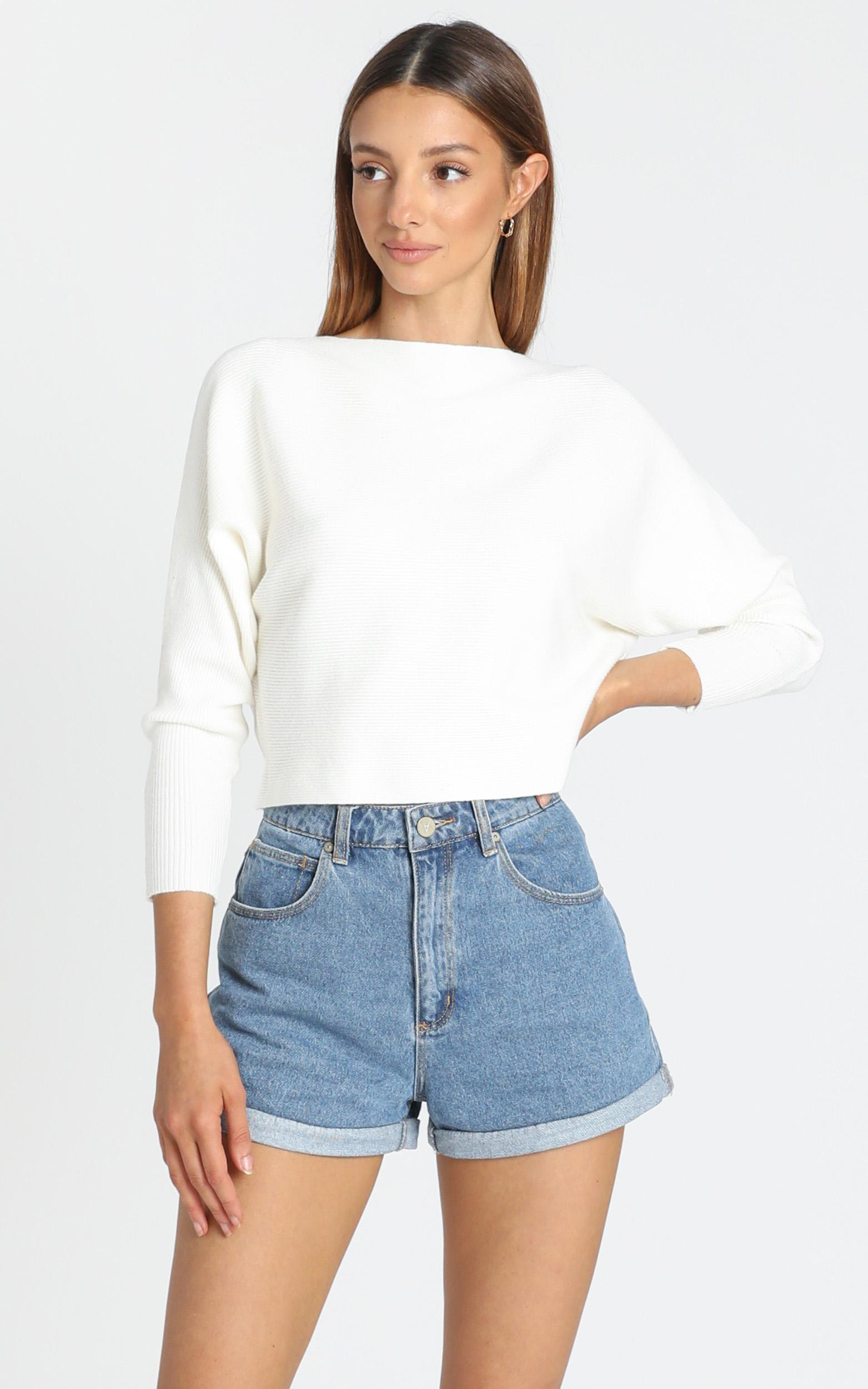 Crissy Jumper in White - 8 (S), White, hi-res image number null