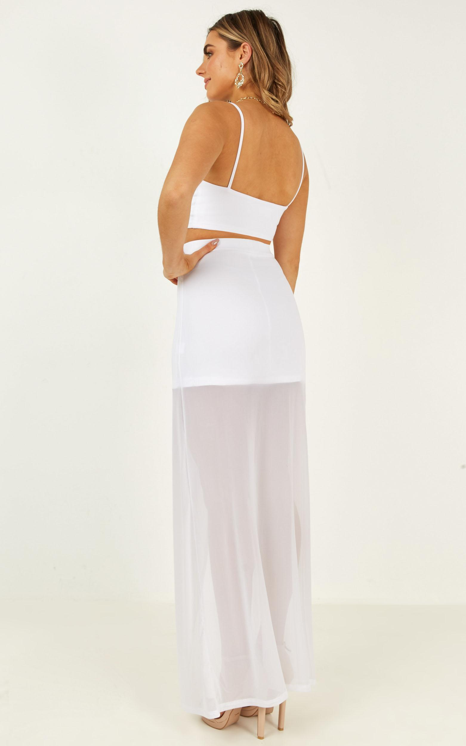 Body Language Two Piece Set in white - 8 (S), White, hi-res image number null