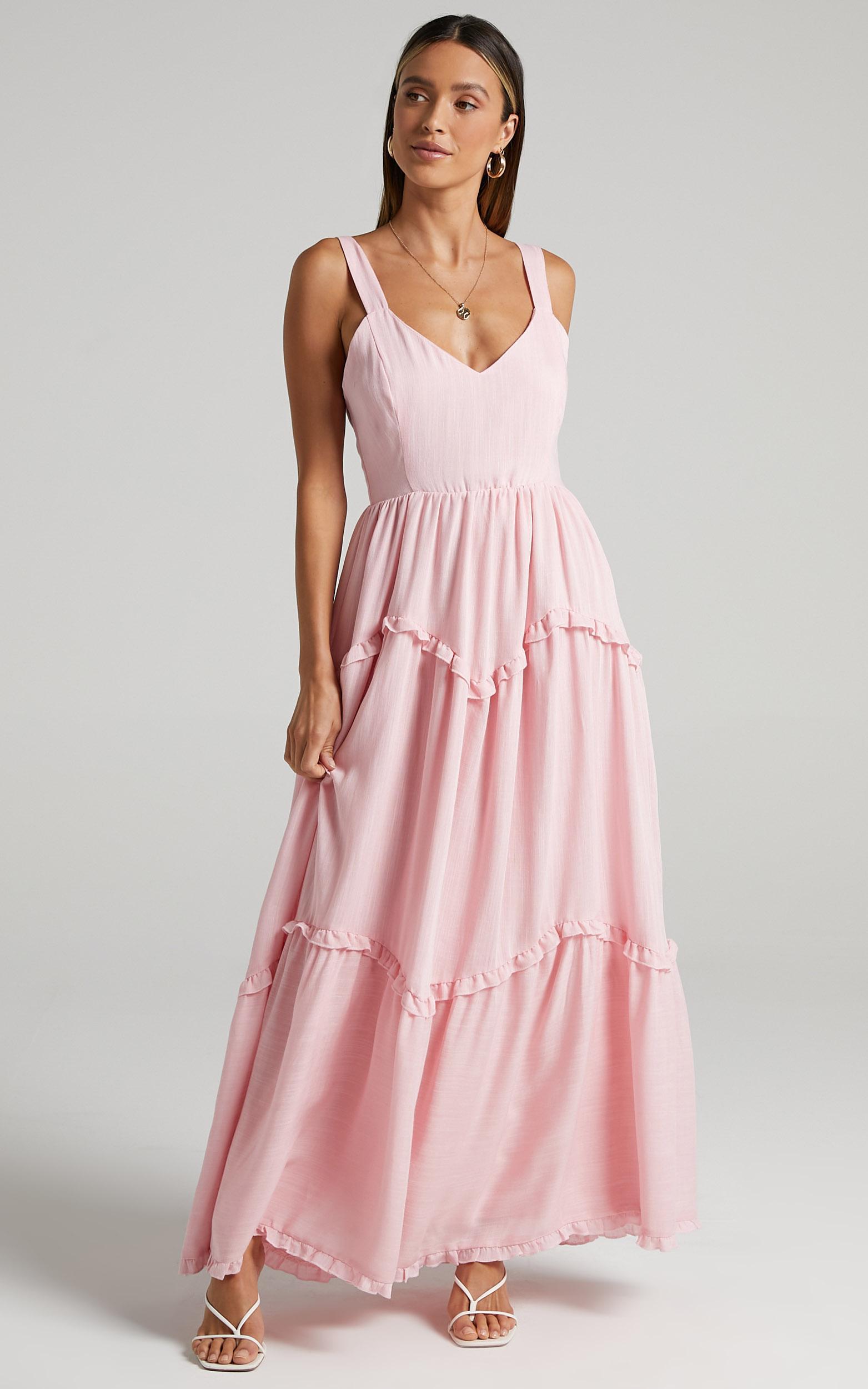 Sakura Dress in Pink - 6 (XS), PNK1, hi-res image number null