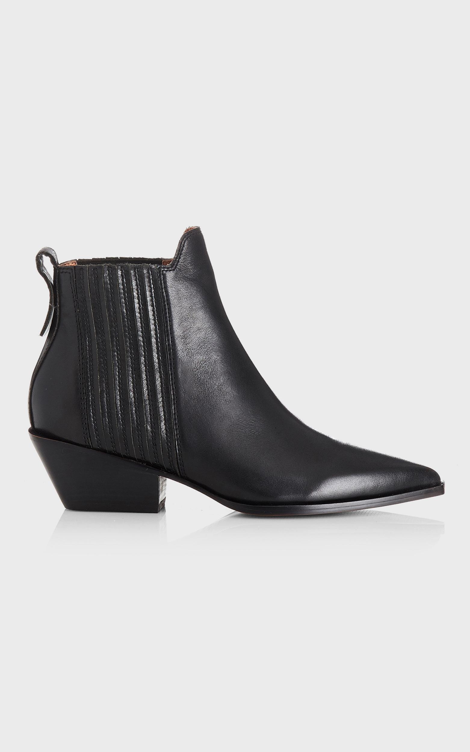 Alias Mae - Seth Boots in Black Burnished - 5.5, BLK1, hi-res image number null