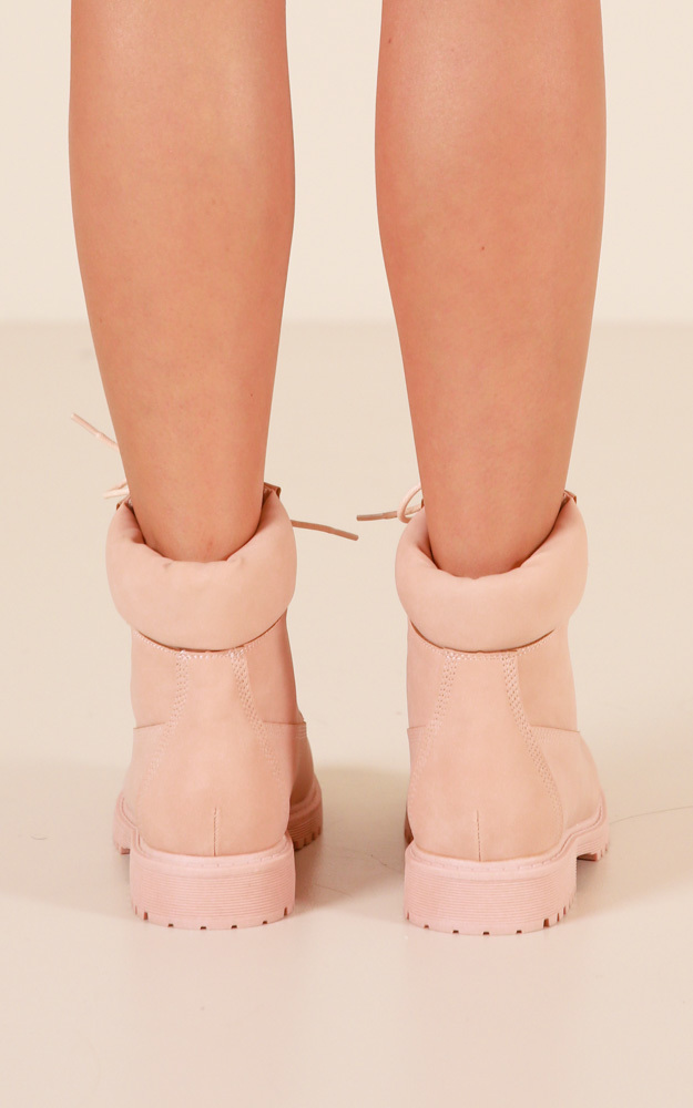 Verali - Stomper Boots in dusty pink - 10, Pink, hi-res image number null