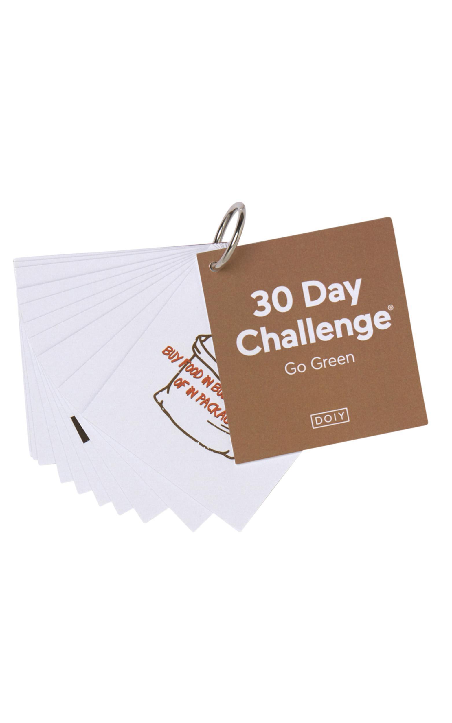 Doiy: 30 Day Challenge - Go Green , , hi-res image number null