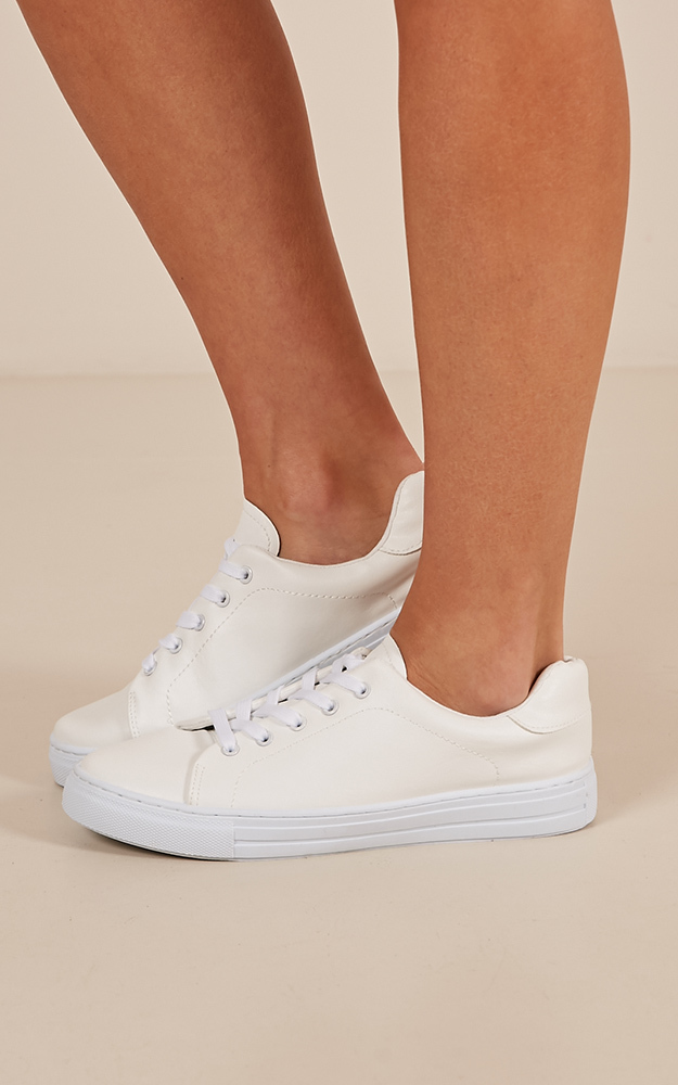 Reba sneakers in white - 10, White, hi-res image number null