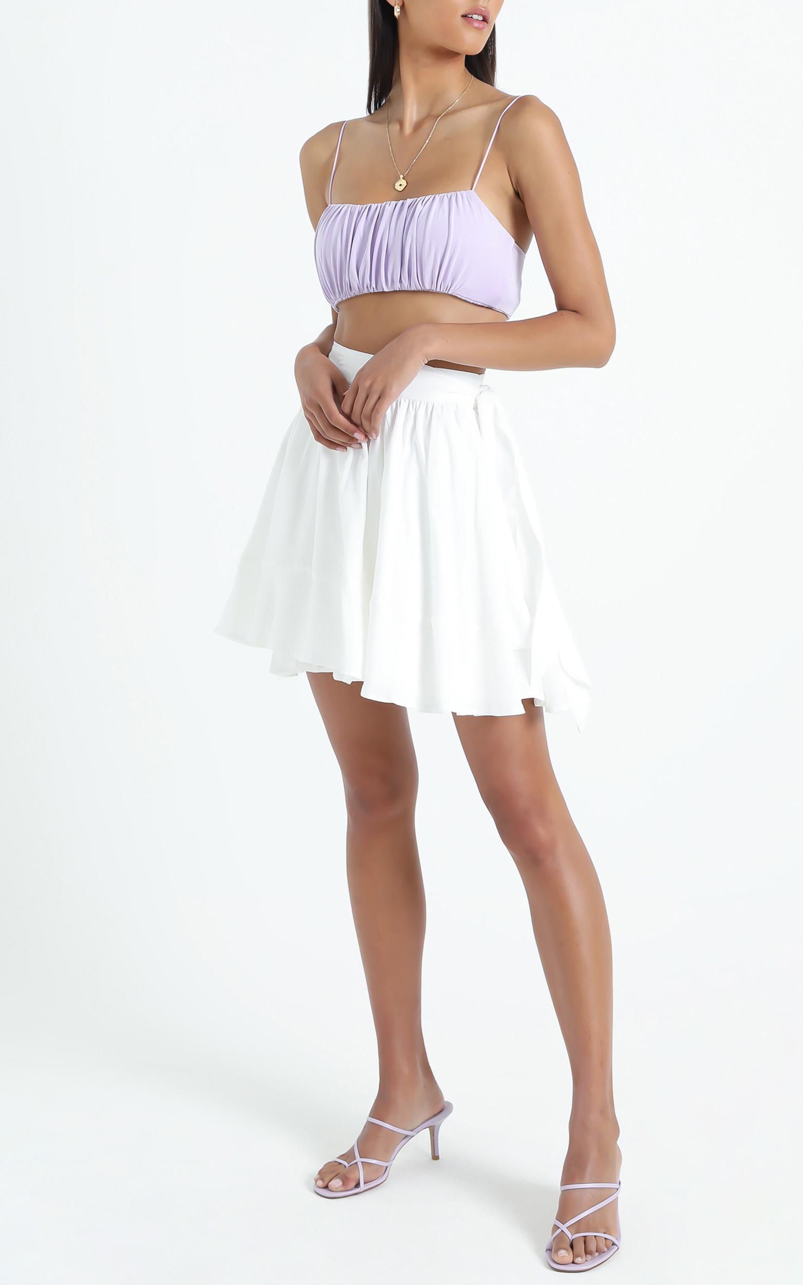 Eimear Skirt in White - 6 (XS), White, hi-res image number null