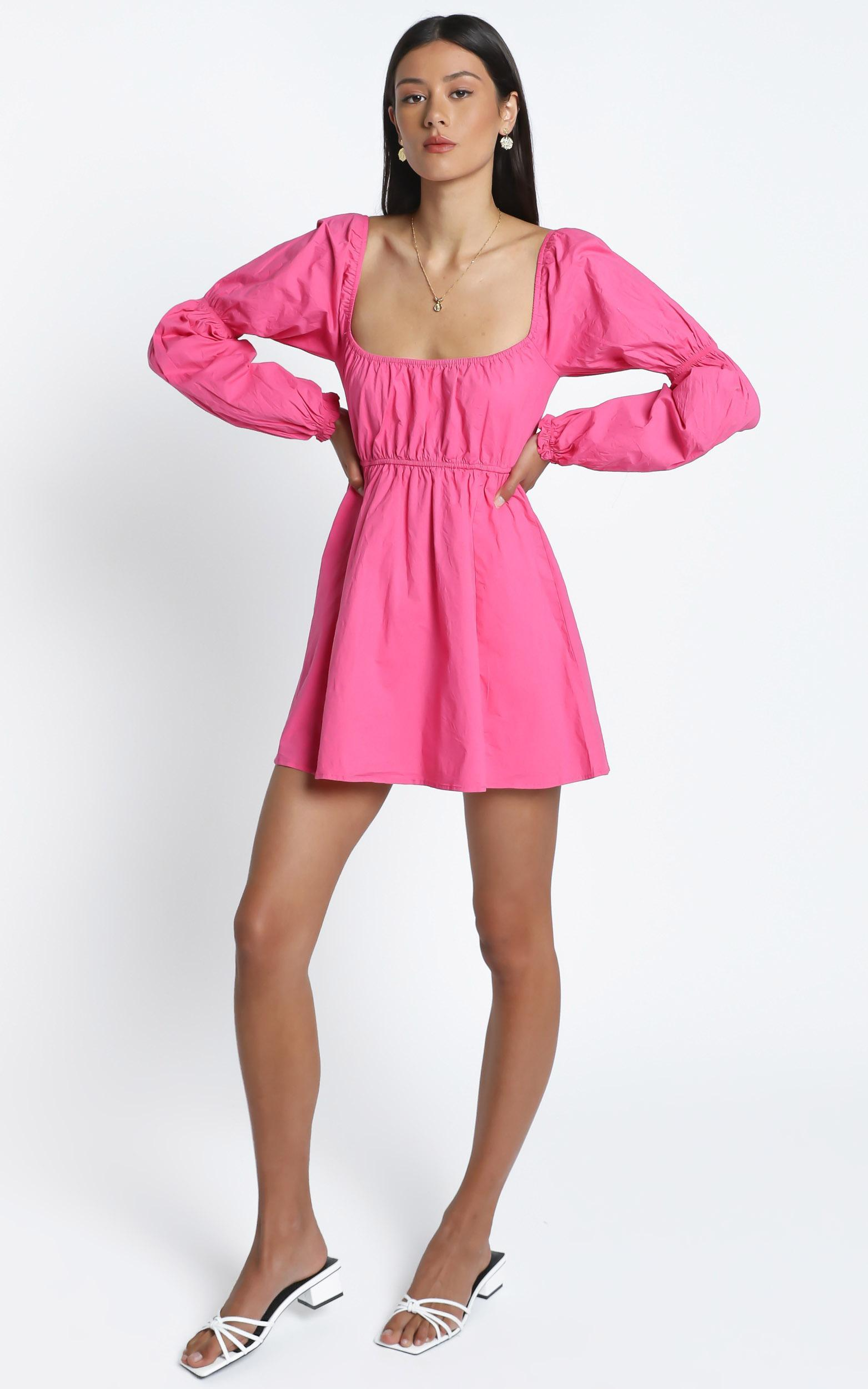 Allora Dress in Pink - 14 (XL), Pink, hi-res image number null
