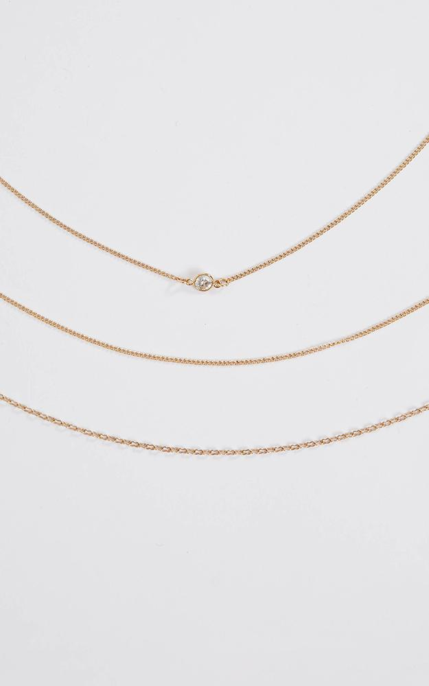 Dont Miss It Necklace In Gold, , hi-res image number null