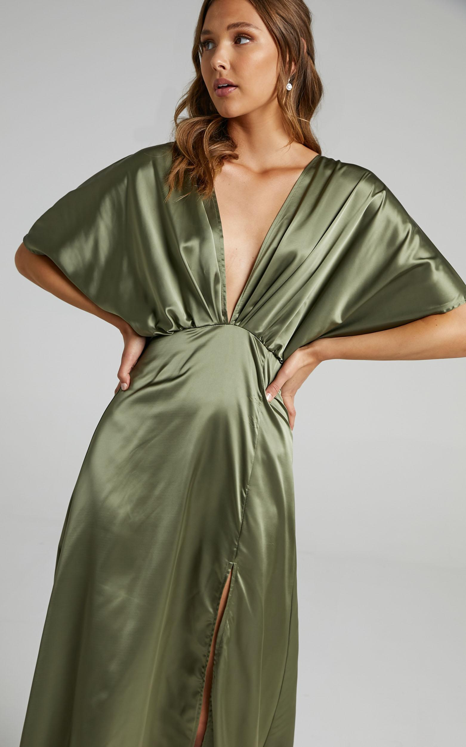 The Day of All Days Dress in Olive - 06, GRN1, hi-res image number null