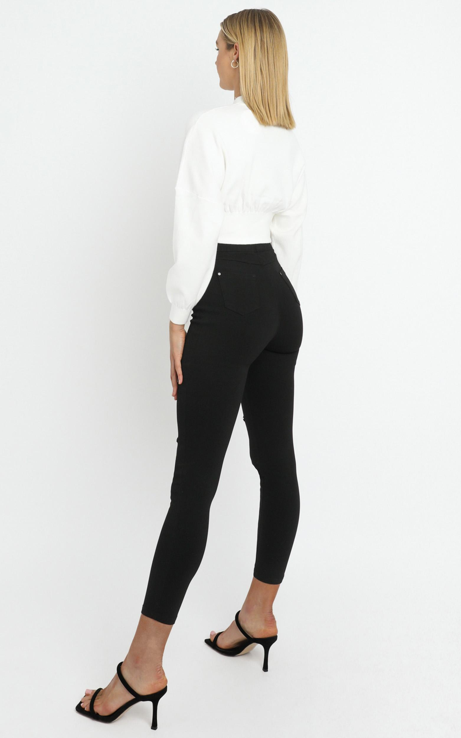 Cormac Jeans in Black - 14 (XL), BLK1, hi-res image number null