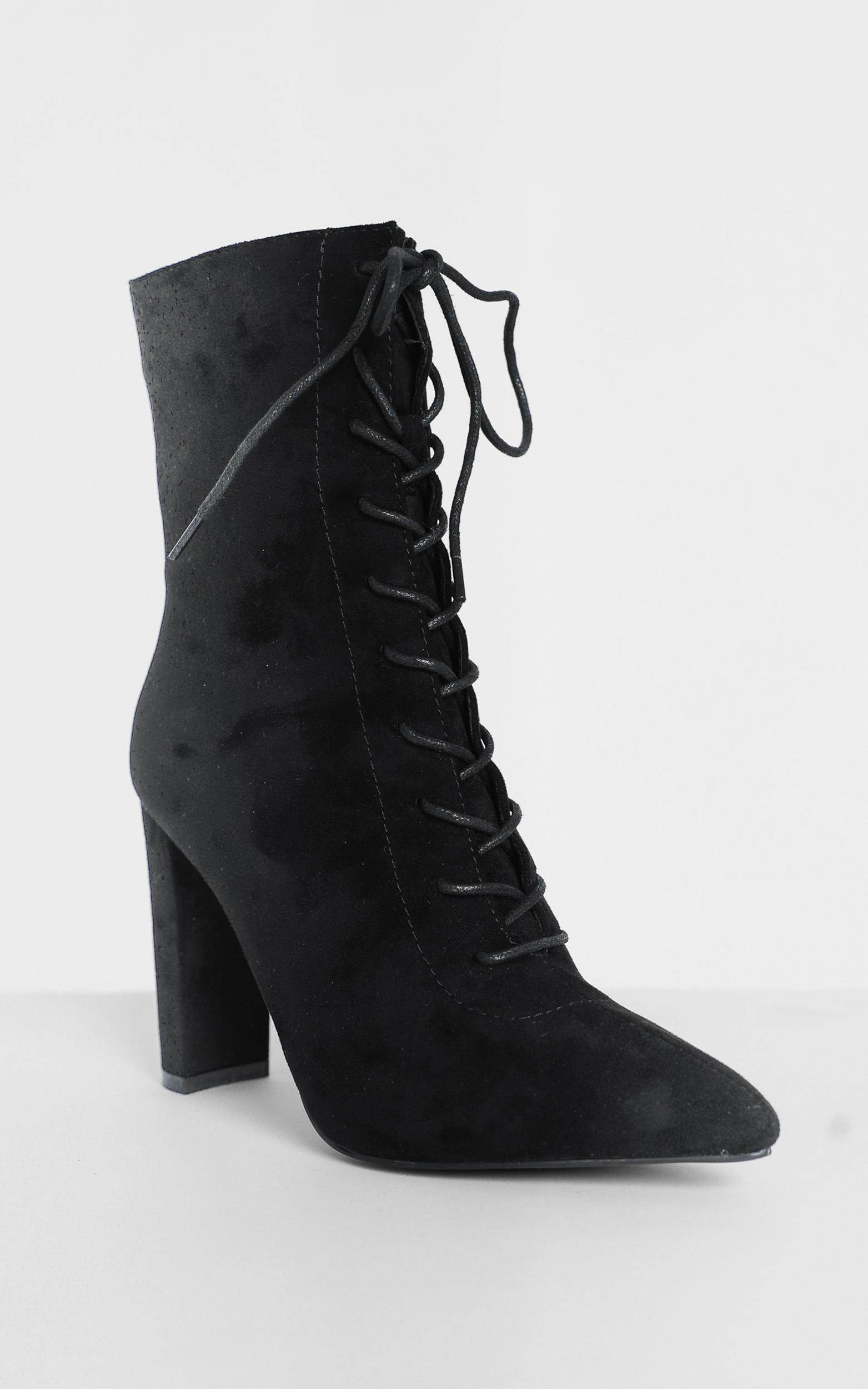 Billini - Kassia Boots in black micro - 5, Black, hi-res image number null