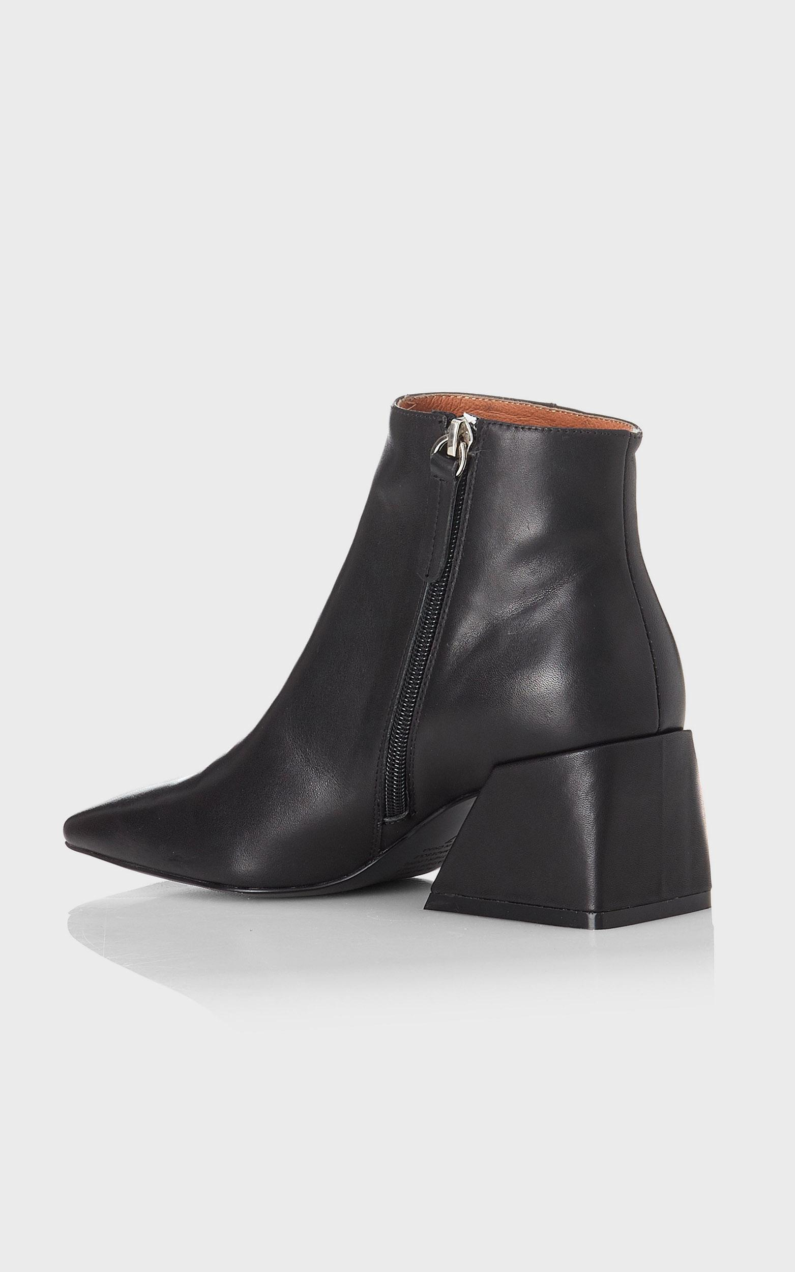 Alias Mae - Dani Boots in Black Burnished - 5.5, Black, hi-res image number null