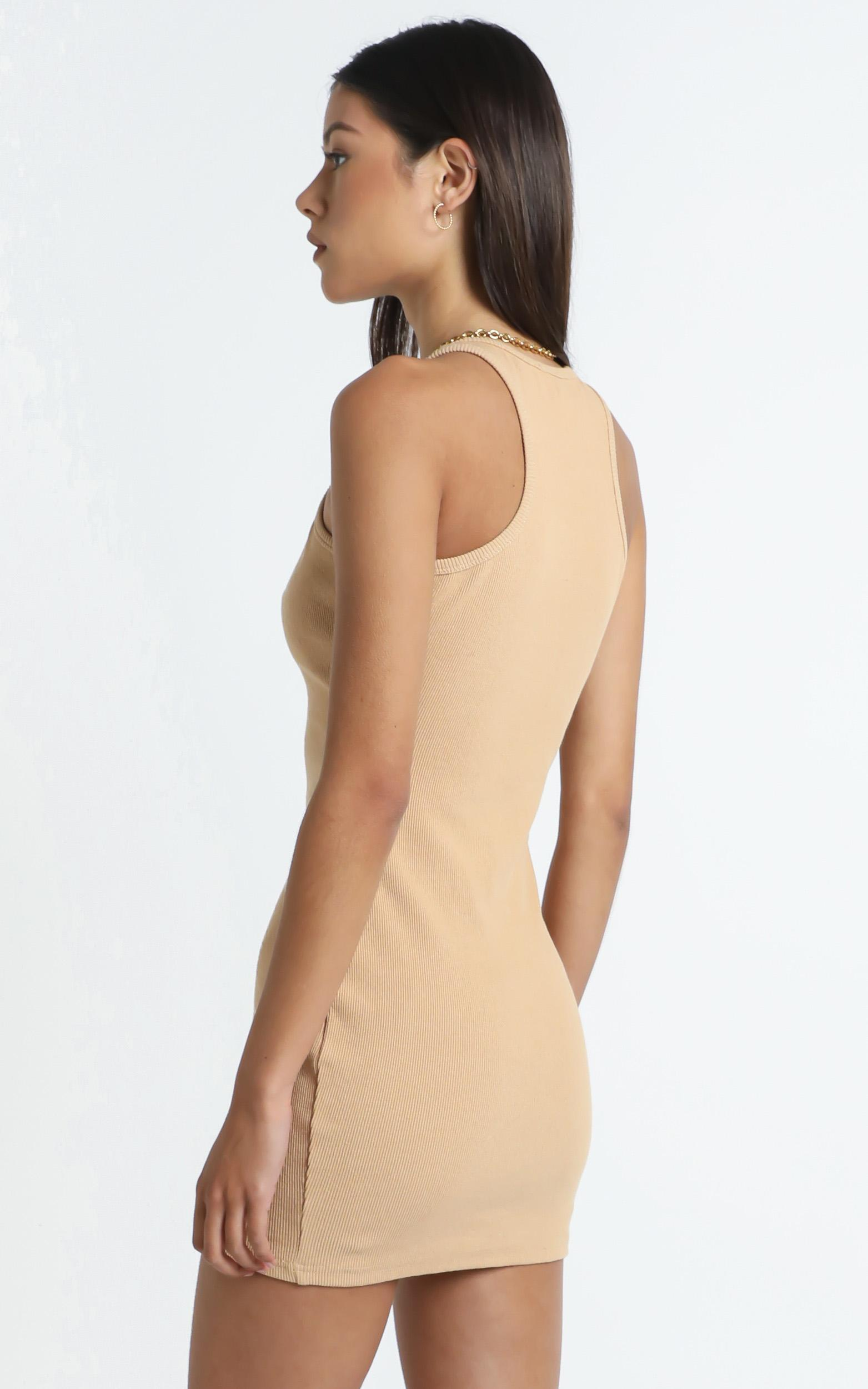 Peyton Dress in Beige - 12 (L), CRE1, hi-res image number null