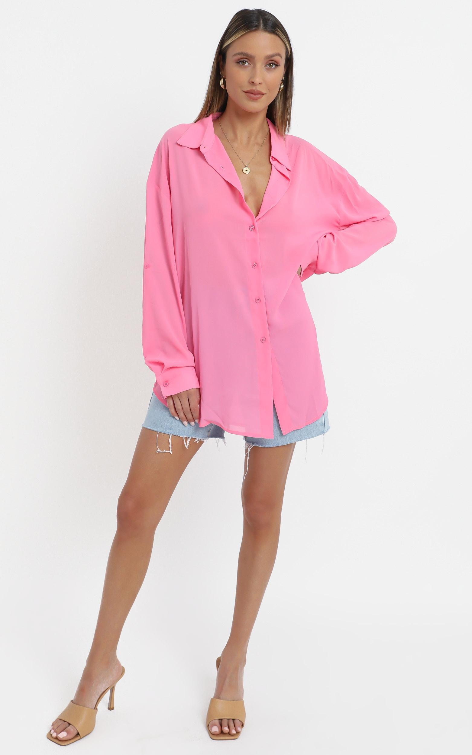 Morning Call Top in Pink - 16 (XXL), Pink, hi-res image number null