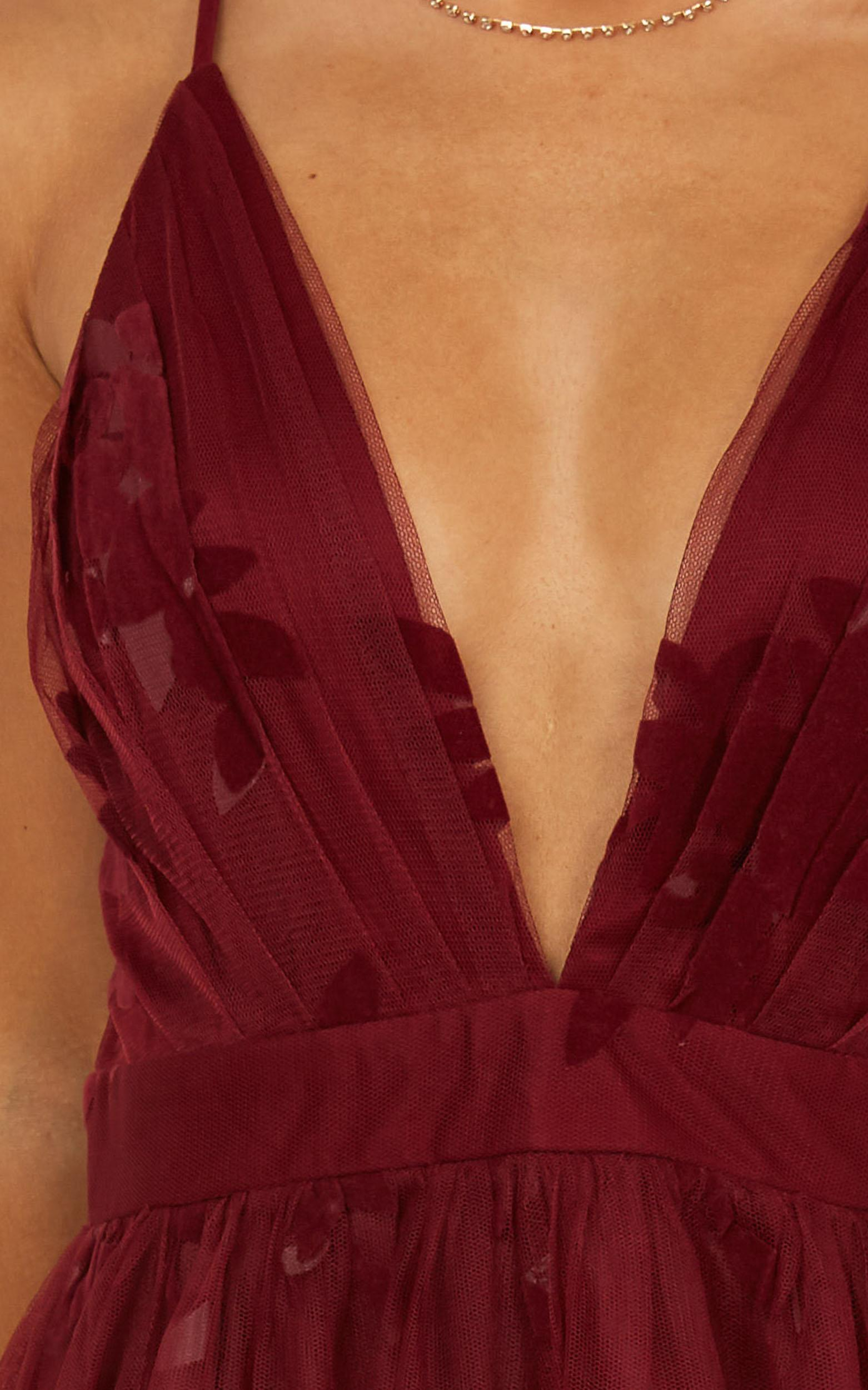 Moon Beam dress in wine - 14 (XL), Wine, hi-res image number null