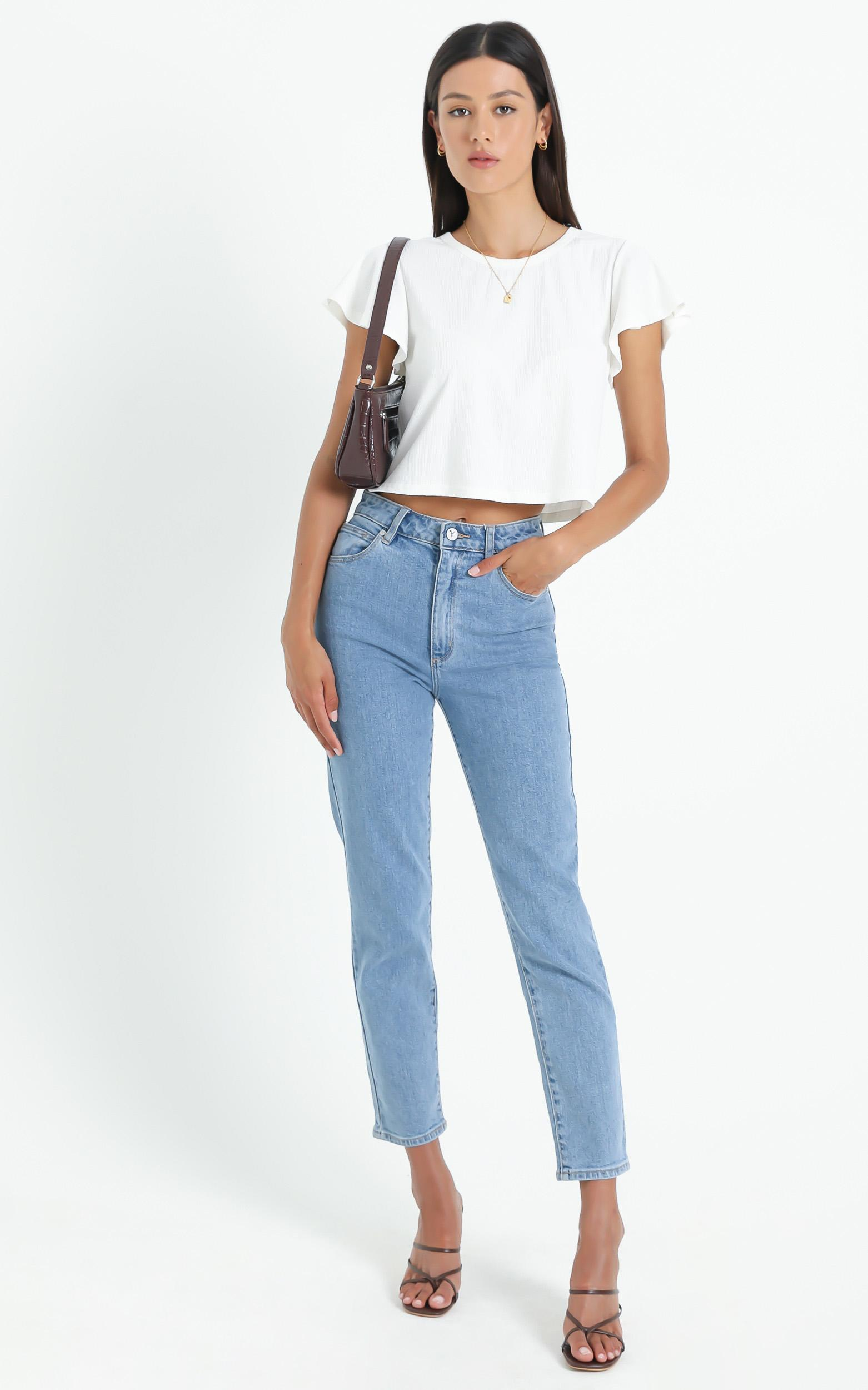 Broome Top in White - 6 (XS), White, hi-res image number null