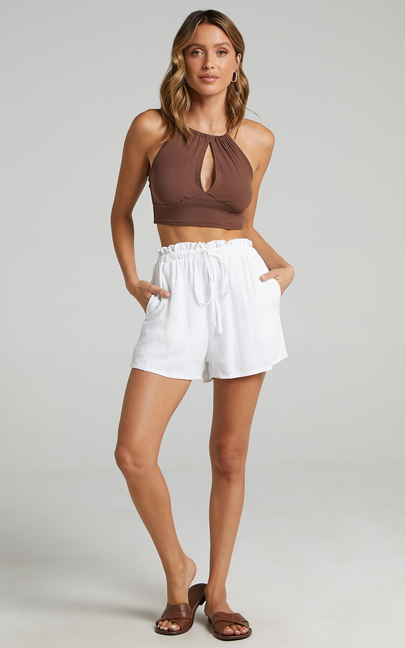Brooklyn Shorts in White - 14, WHT2, hi-res image number null