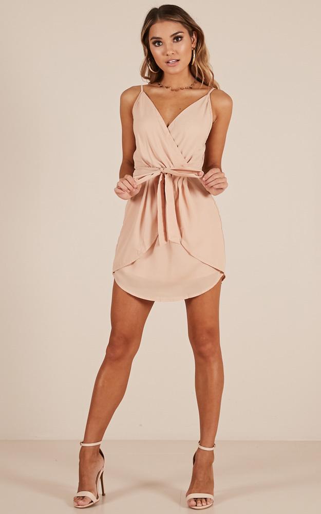 Dancing Dream Dress in beige - 14 (XL), Beige, hi-res image number null