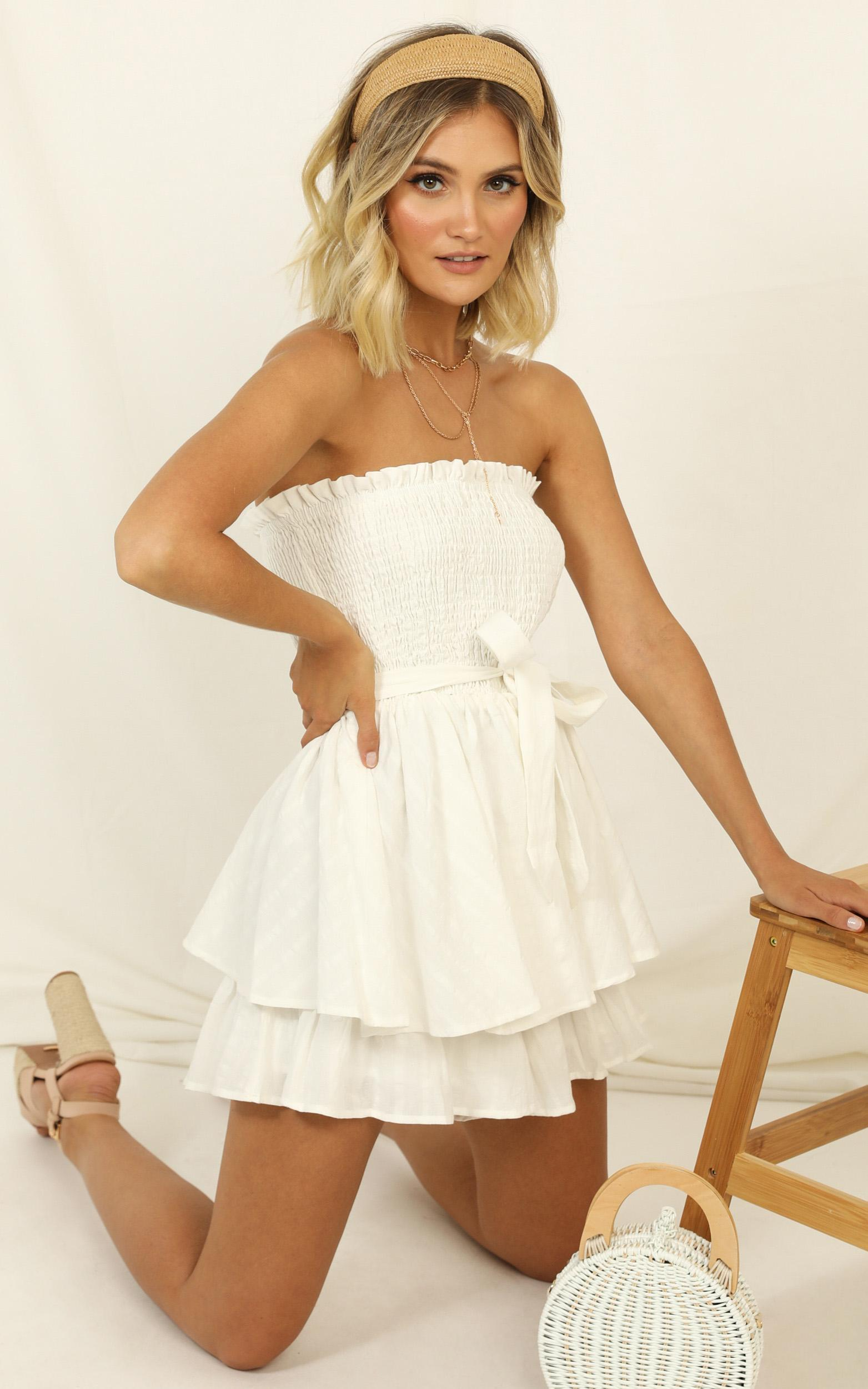 Mutual Love Playsuit in white - 20 (XXXXL), White, hi-res image number null