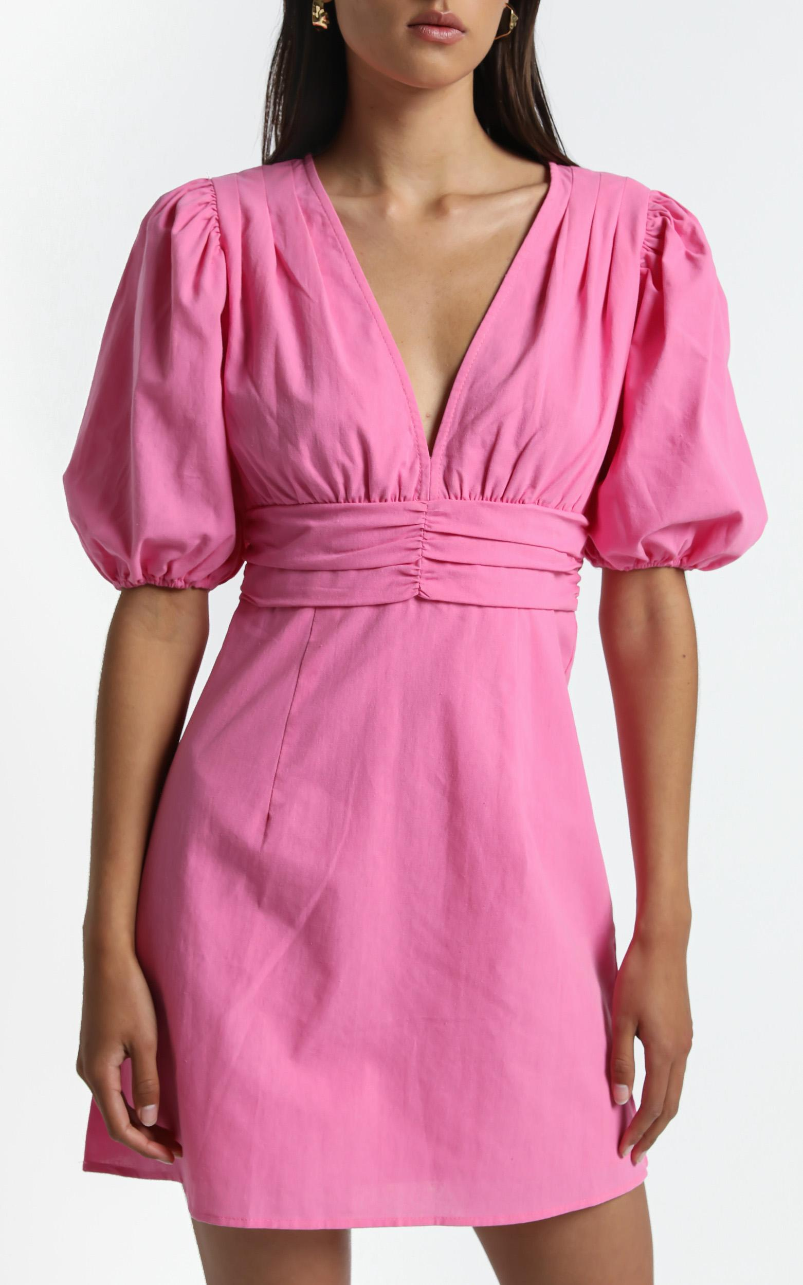 Sunray Dress in Pink - 6 (XS), Pink, hi-res image number null