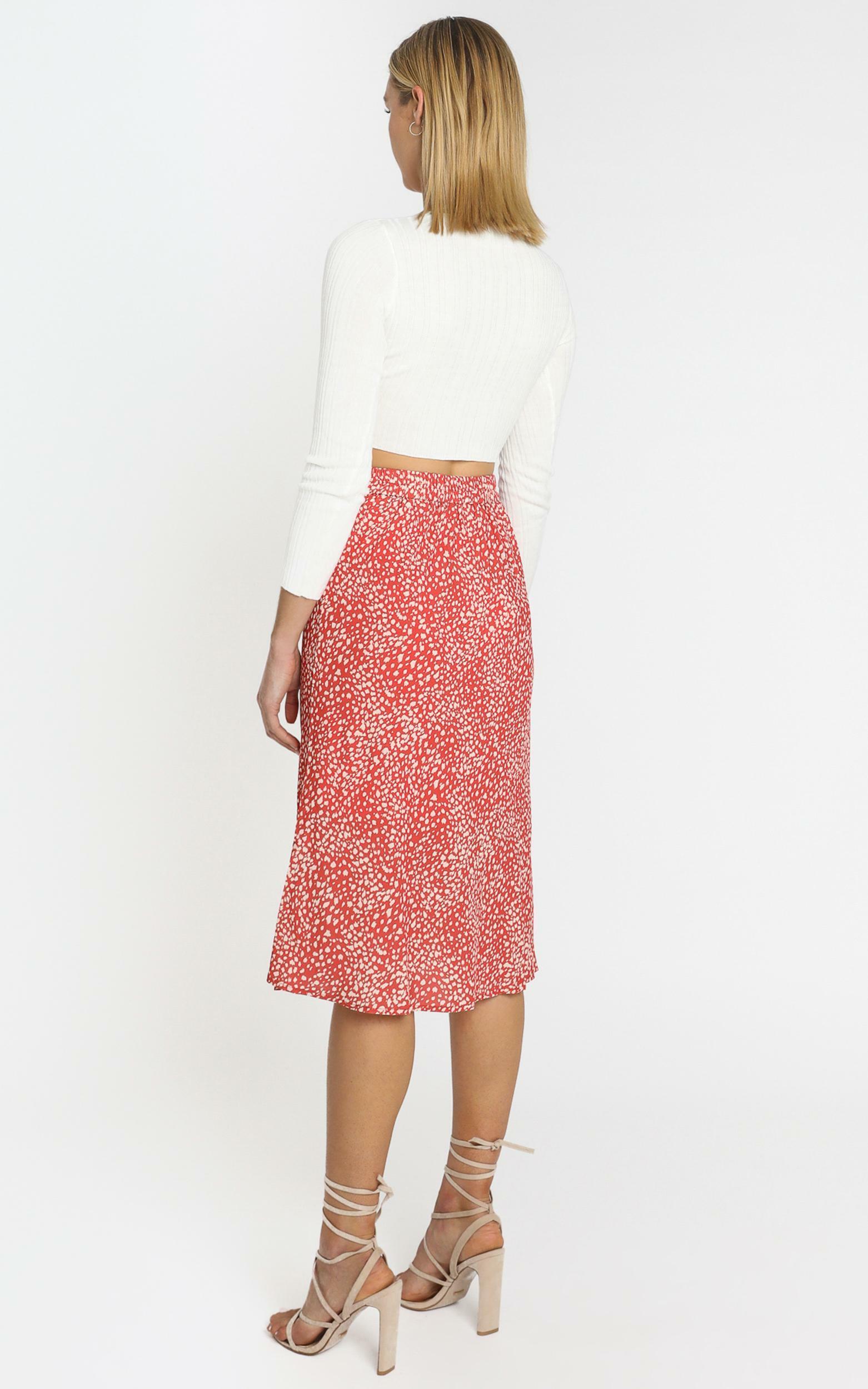 Alegra Skirt in Orange - 6 (XS), ORG1, hi-res image number null