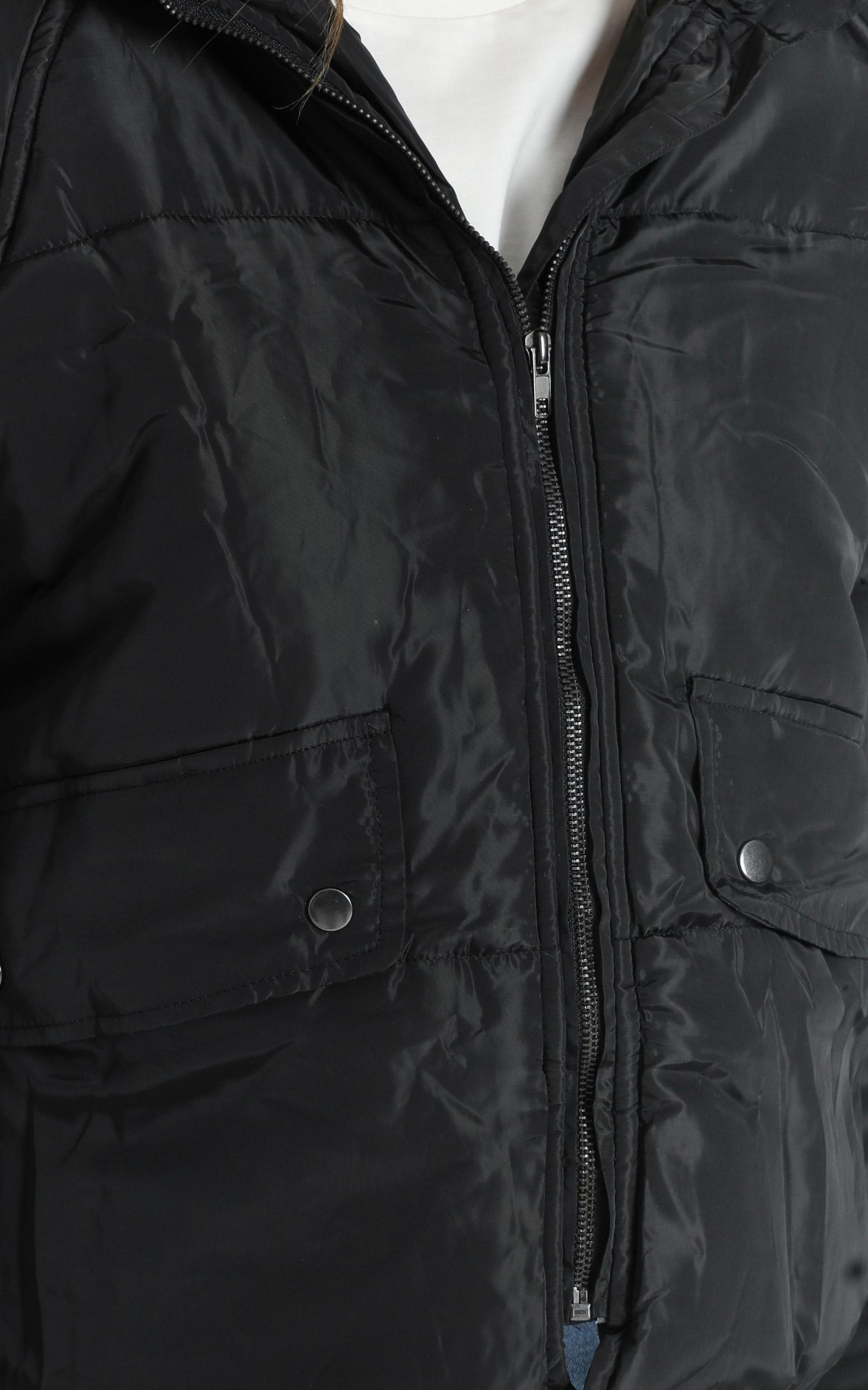 Markle Puffer Jacket in Black - XS/S, Black, hi-res image number null