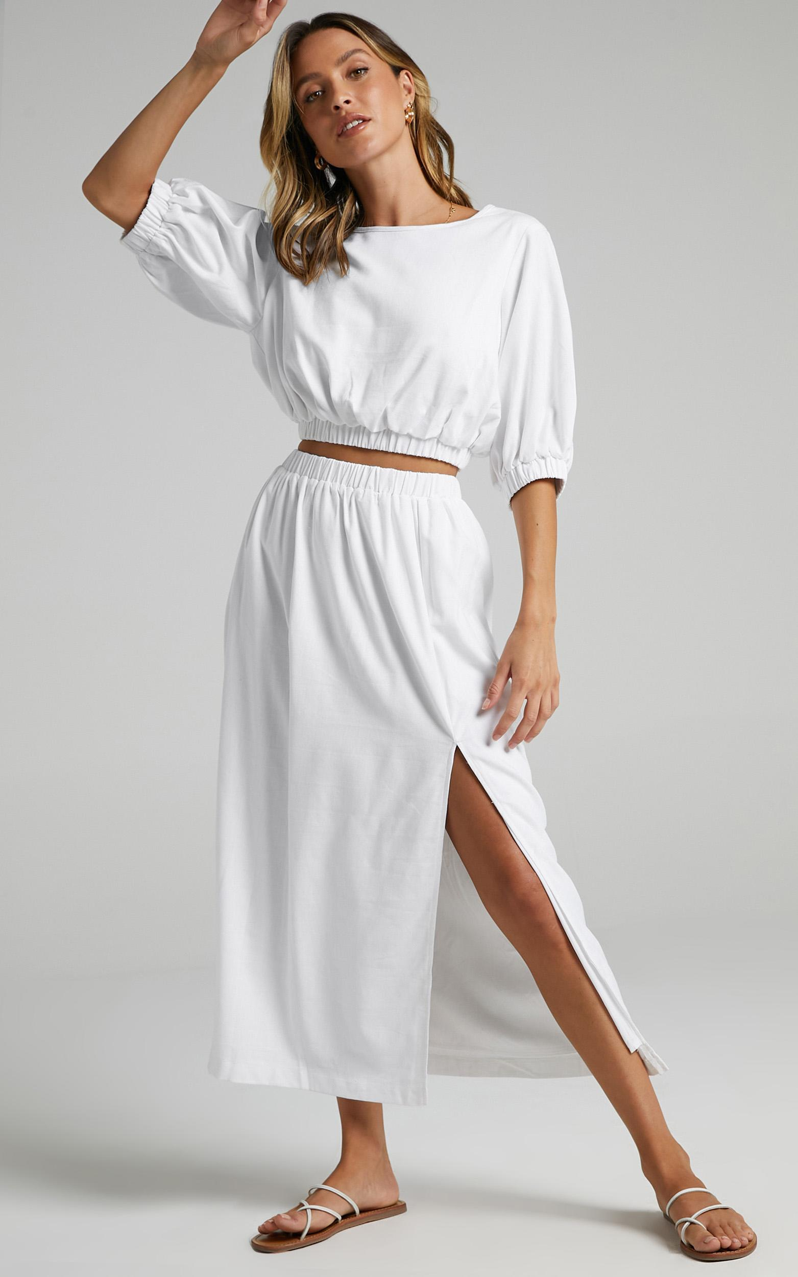 Asta Two Piece set in White - 06, WHT6, hi-res image number null