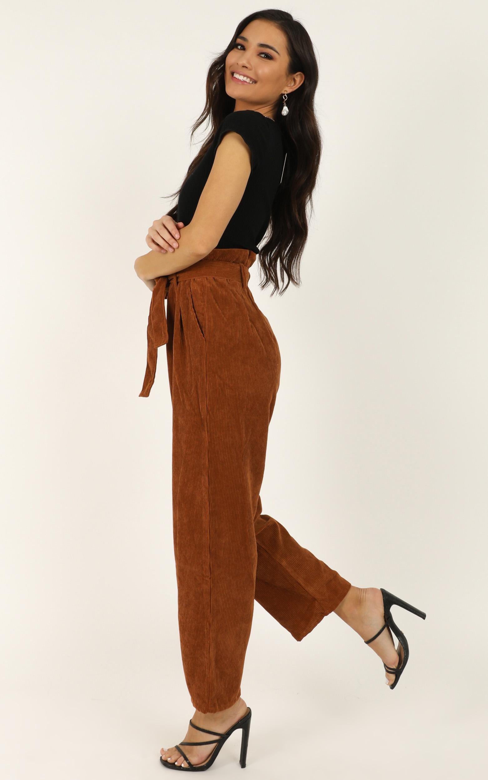 For The Road Trip pants in rust - 12 (L), Rust, hi-res image number null