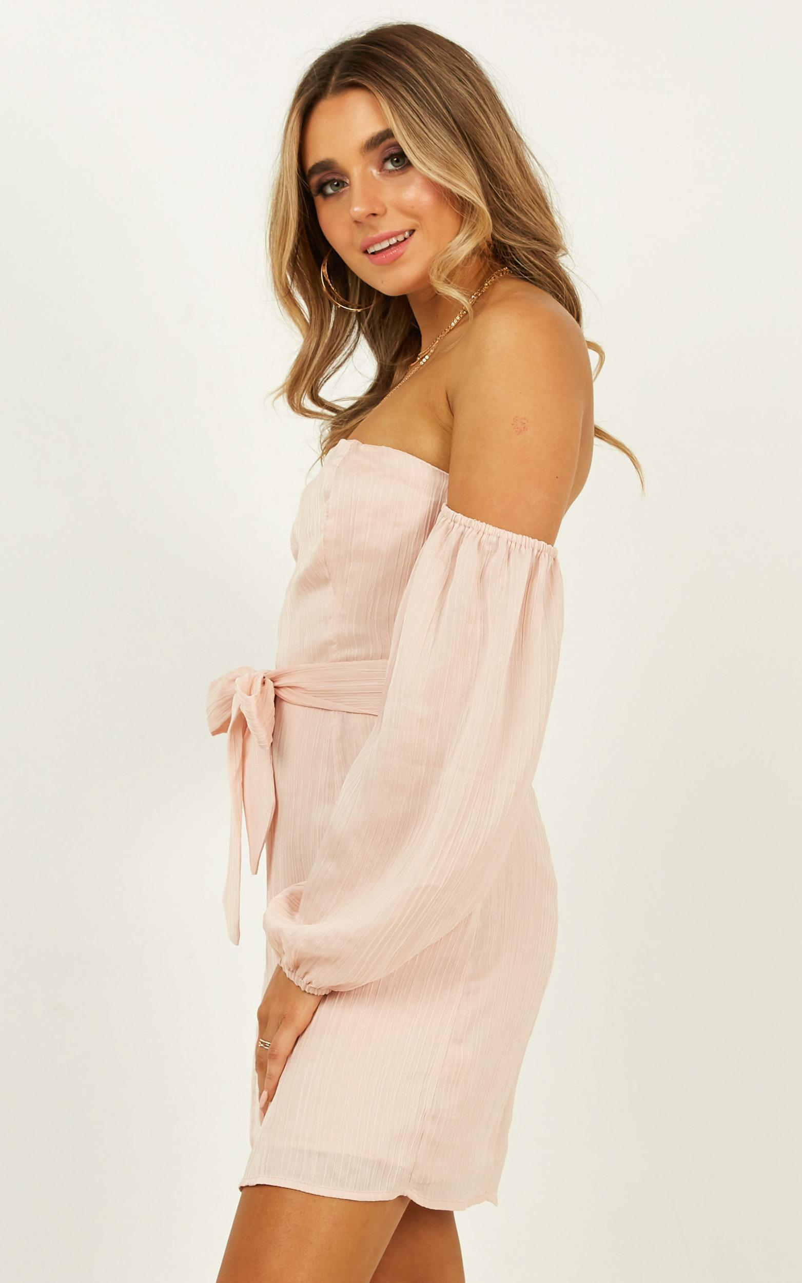 Steaming Ahead Dress In blush - 20 (XXXXL), Blush, hi-res image number null
