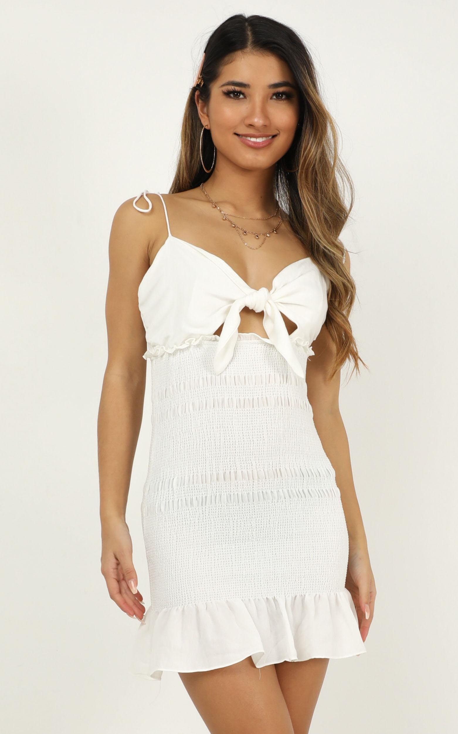 Kisses From You dress in white - 12 (L), White, hi-res image number null