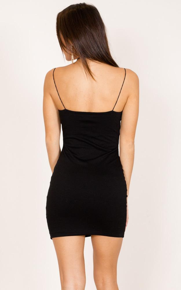 Just Float On dress in black - 12 (L), Black, hi-res image number null