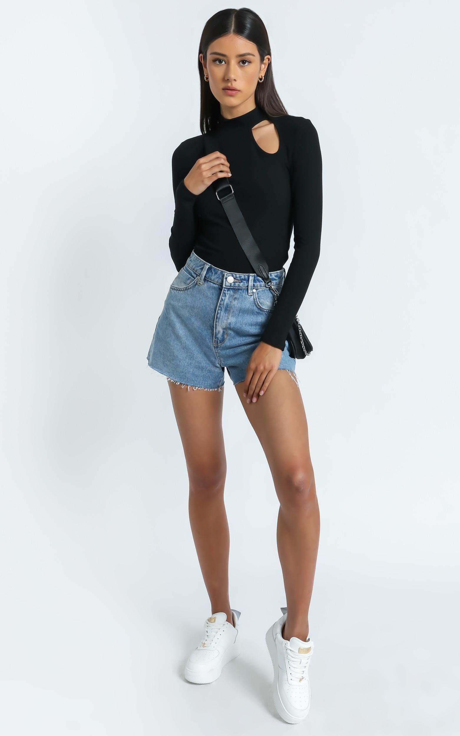 Alek Top in Black - 6 (XS), BLK1, hi-res image number null