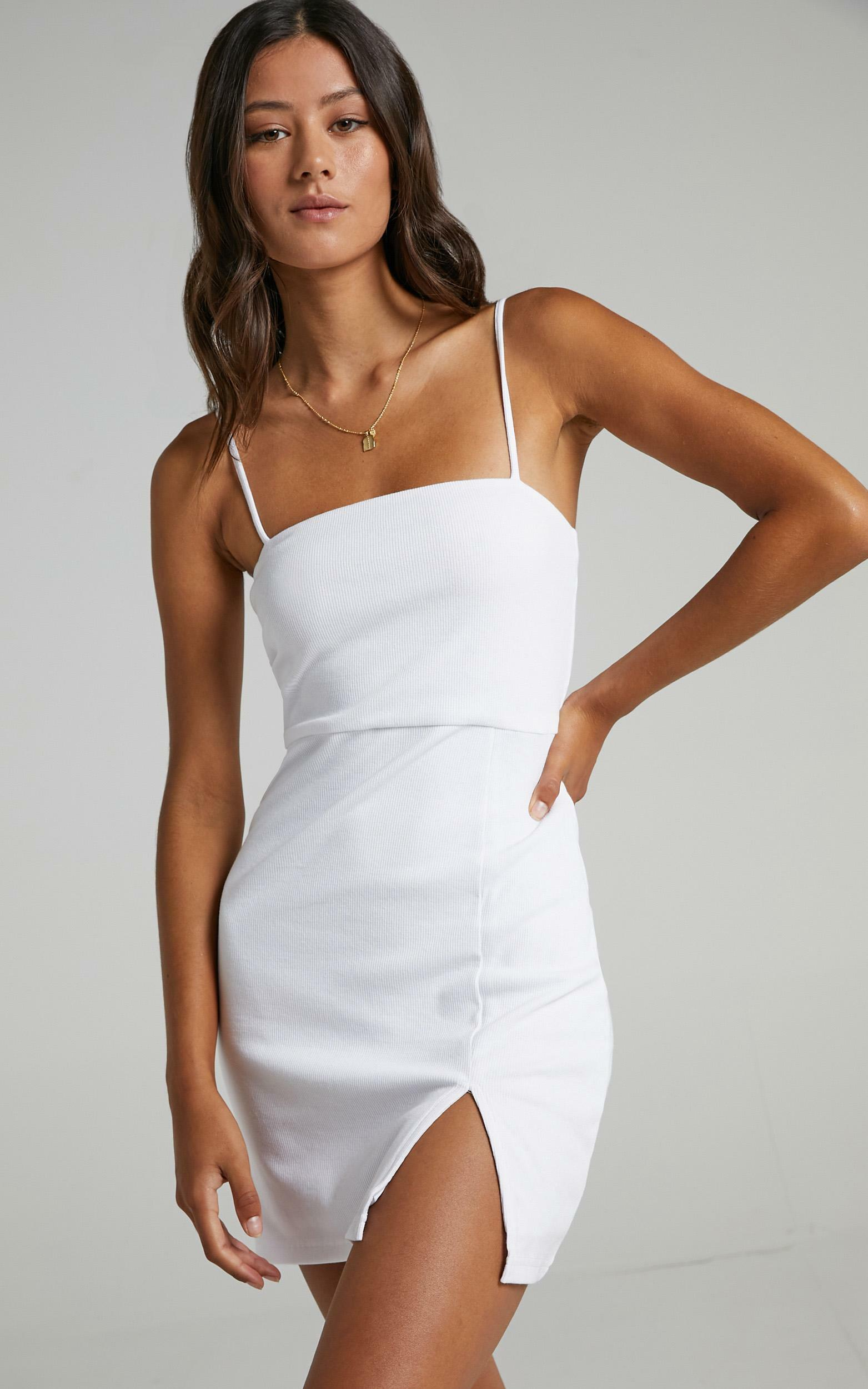 Island Babe Dress in White - 06, WHT4, hi-res image number null