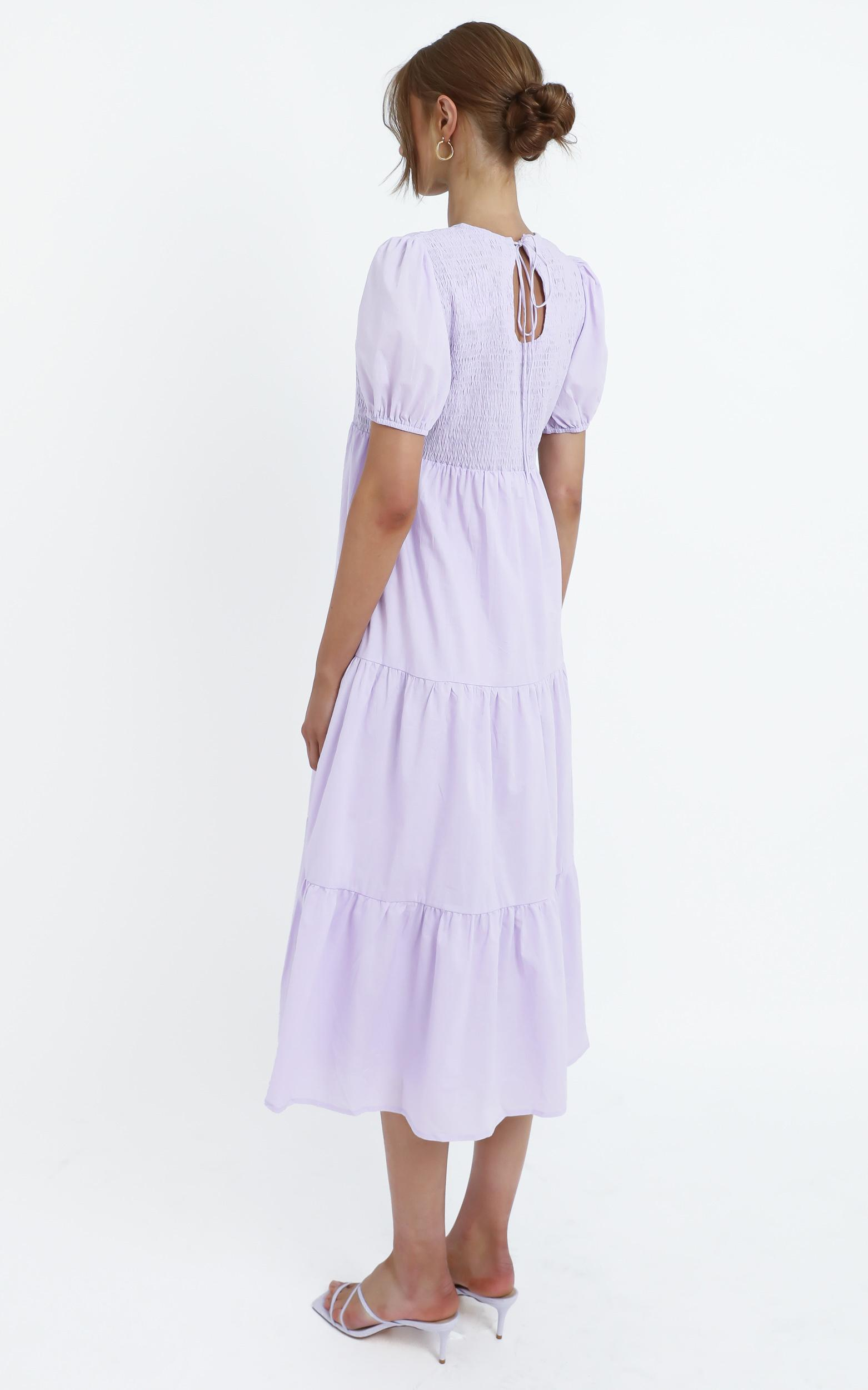 Lorrie Dress in Lilac, Purple, hi-res image number null
