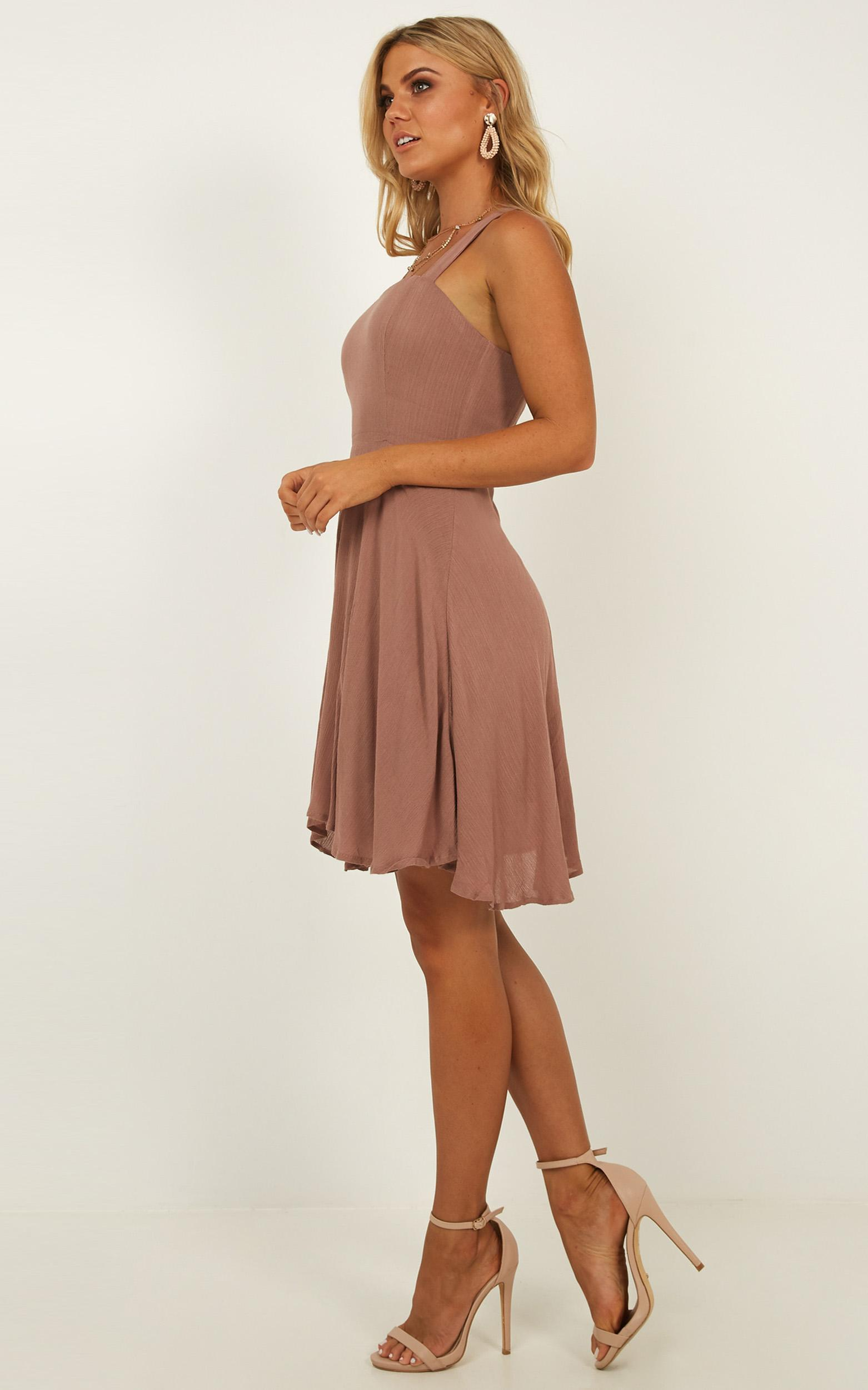 Soaring For You Dress in mocha - 12 (L), Mocha, hi-res image number null