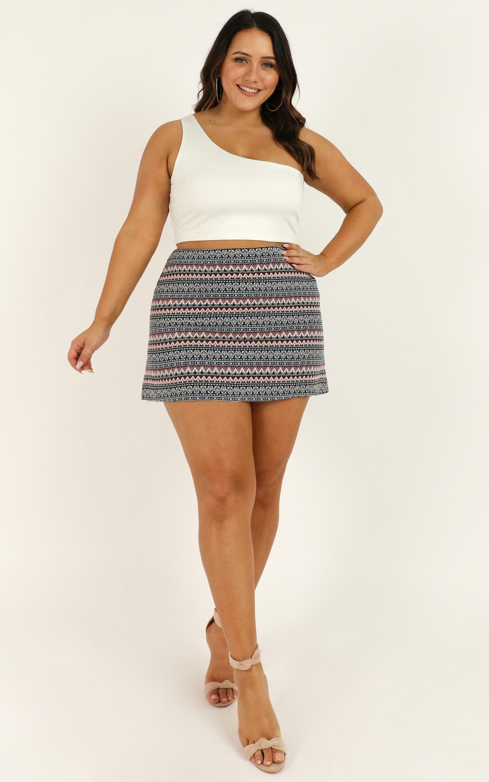 Tear Them To Pieces Skirt in black - 12 (L), Black, hi-res image number null