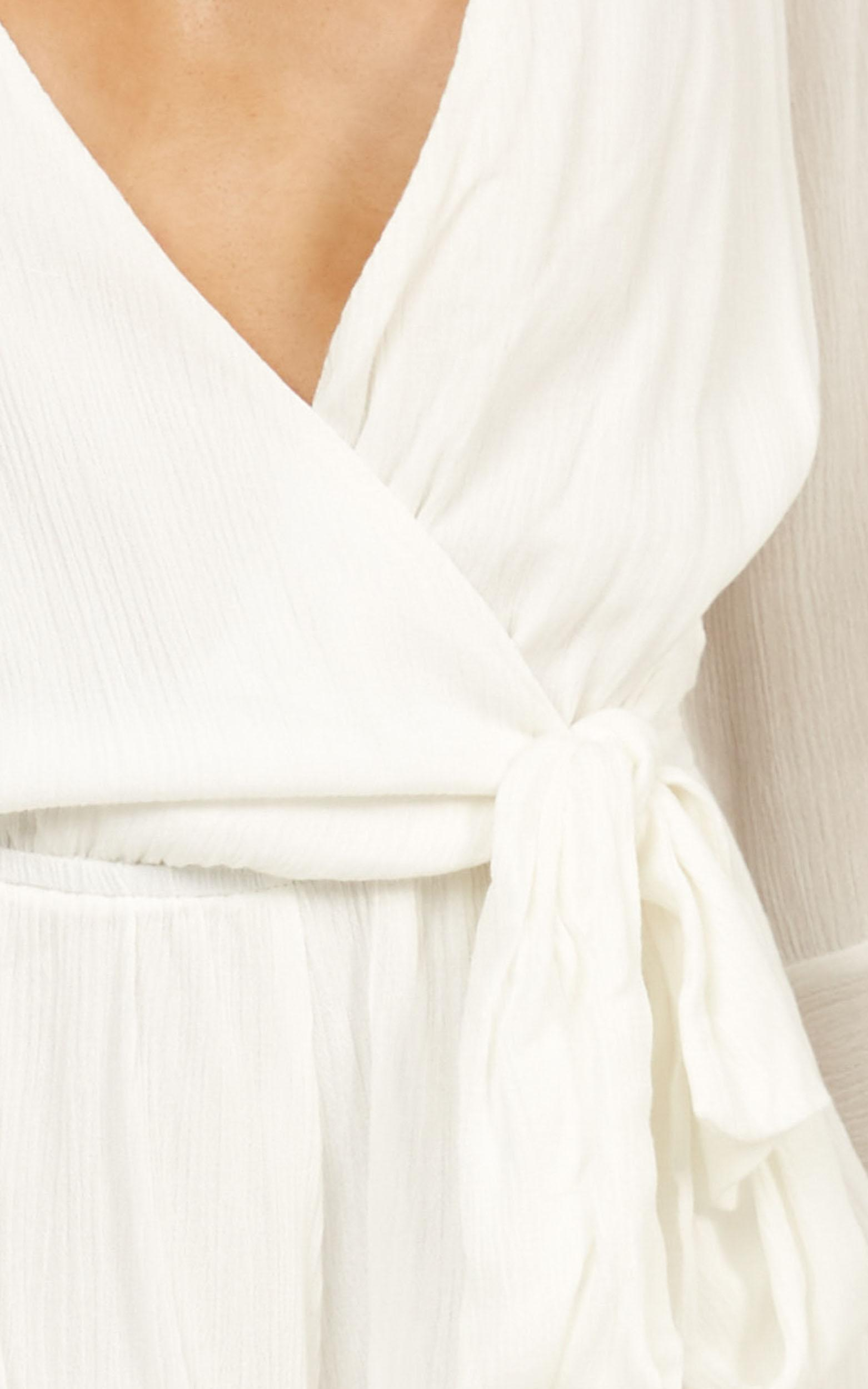 Sunday Breeze playsuit in white - 20 (XXXXL), WHT1, hi-res image number null