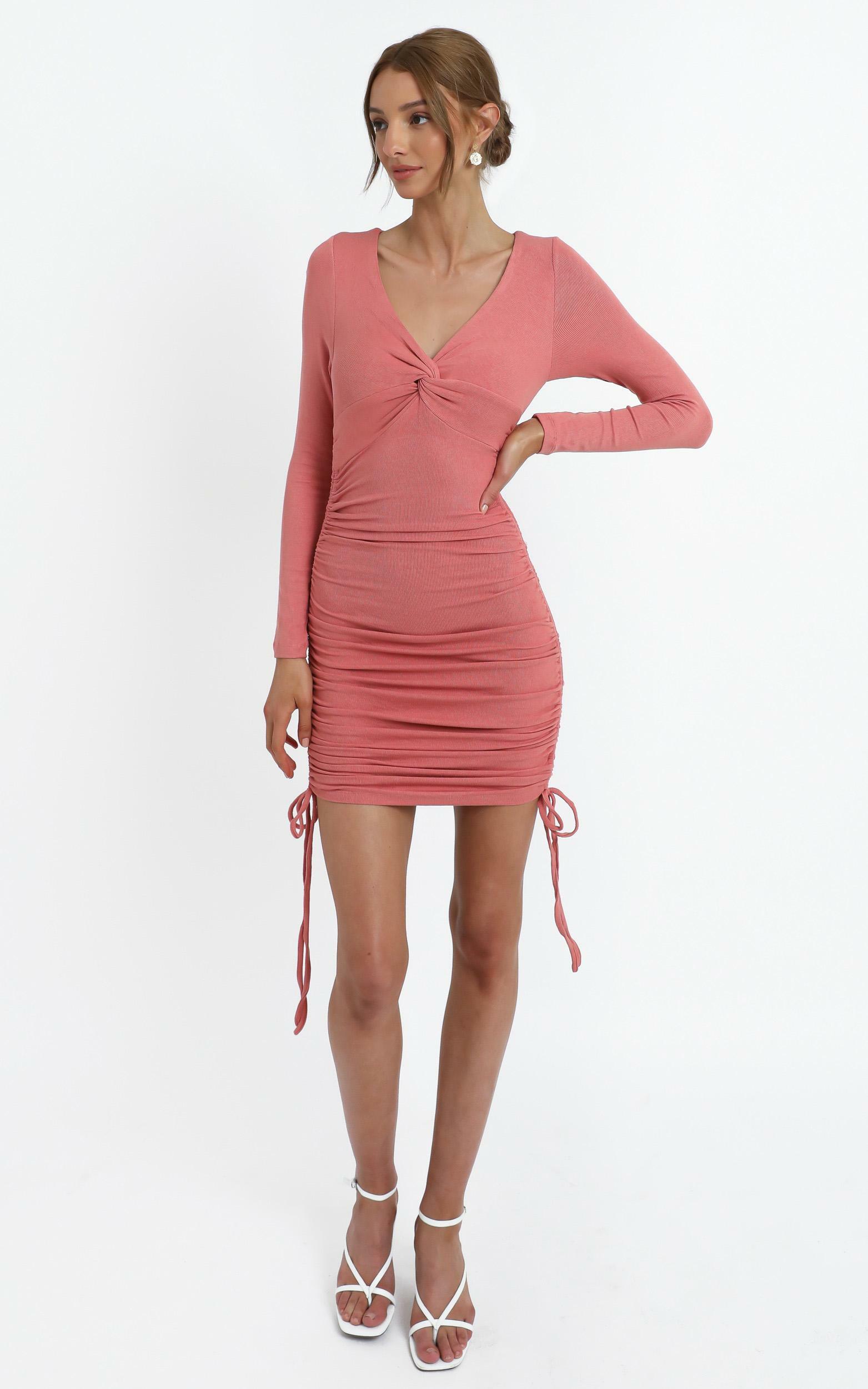 Leland Dress in Rosehip - 12 (L), Pink, hi-res image number null