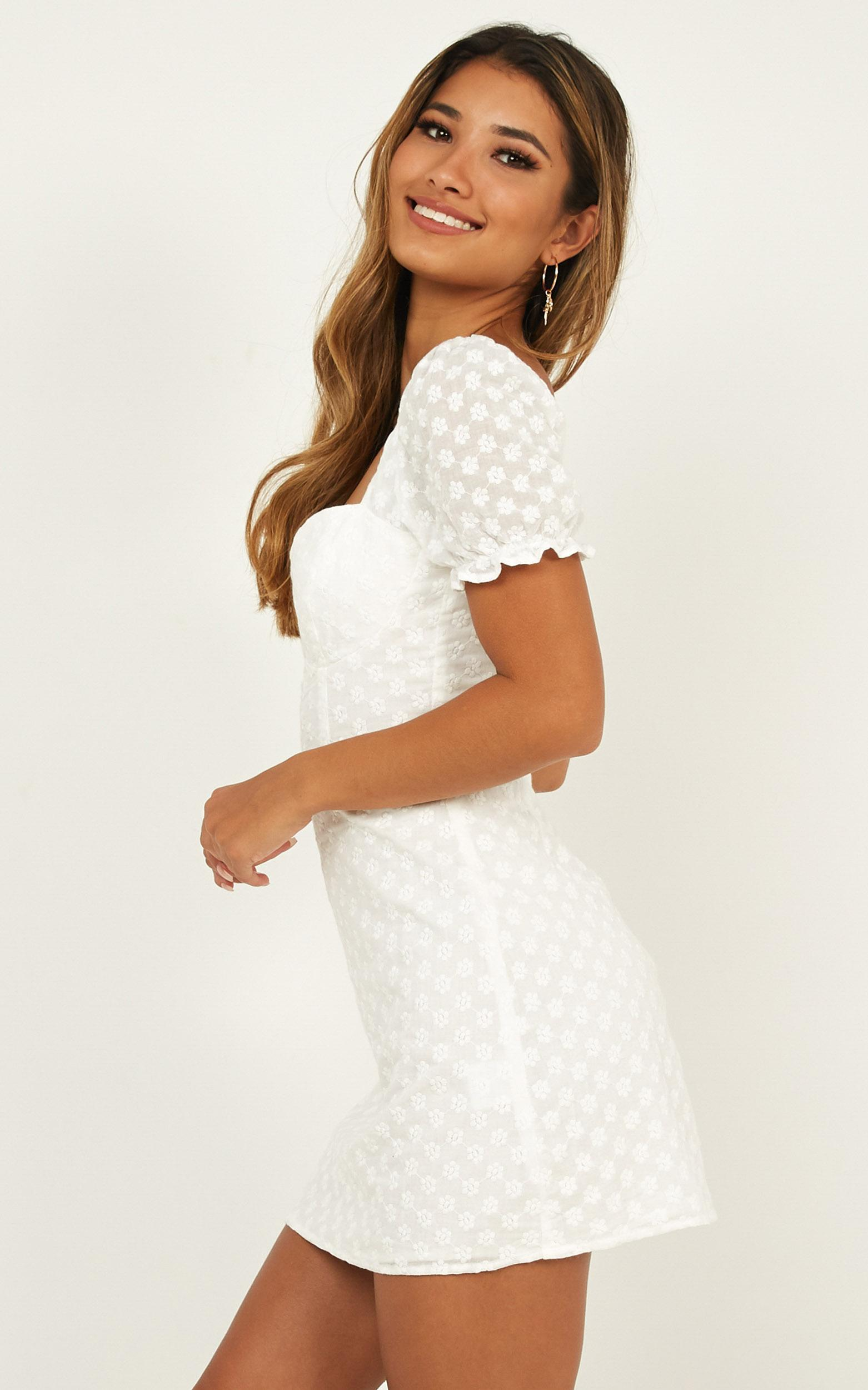 You Earned It Dress In white lace - 12 (L), White, hi-res image number null