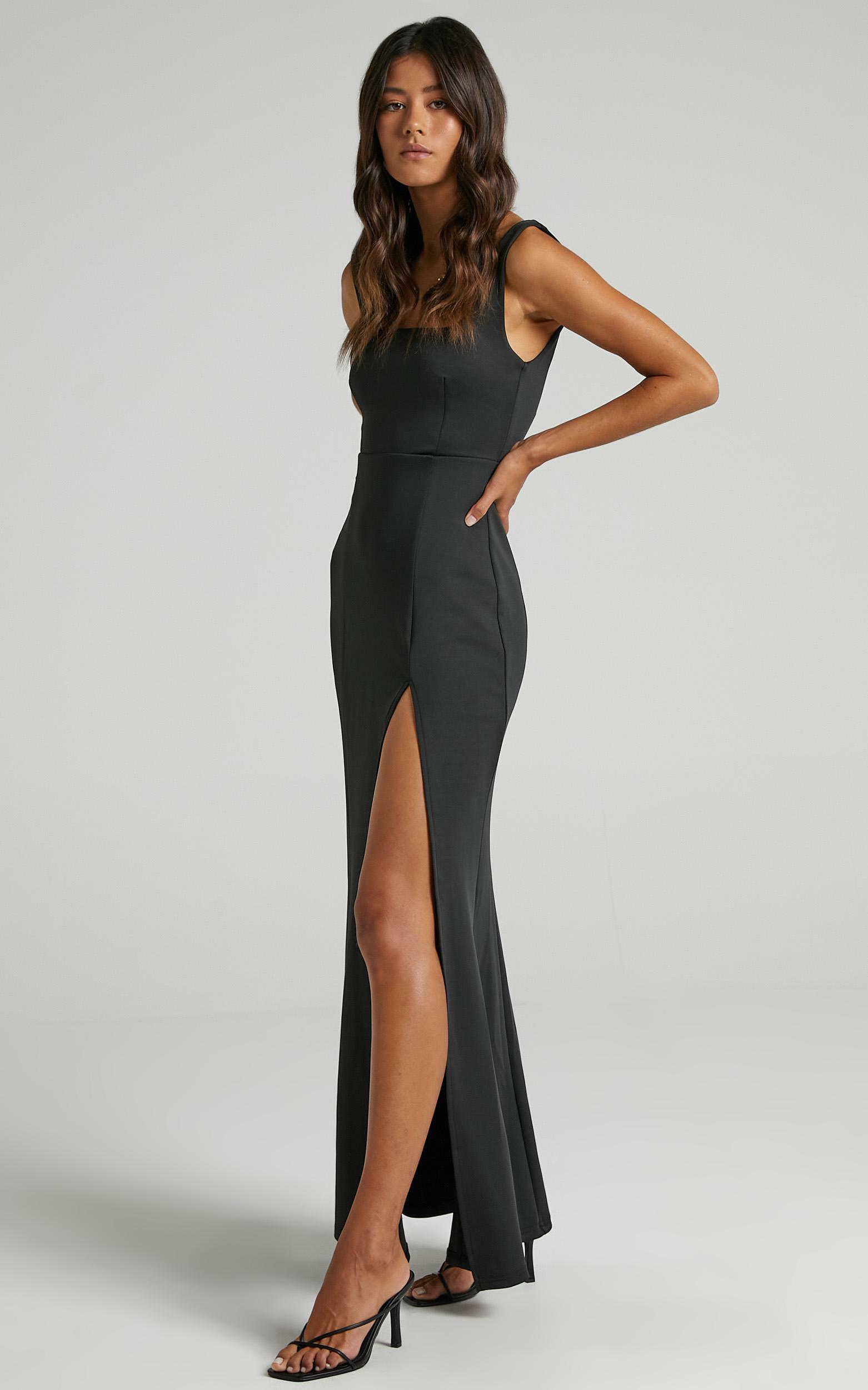 Raquelle Dress in Black - 06, BLK1, hi-res image number null