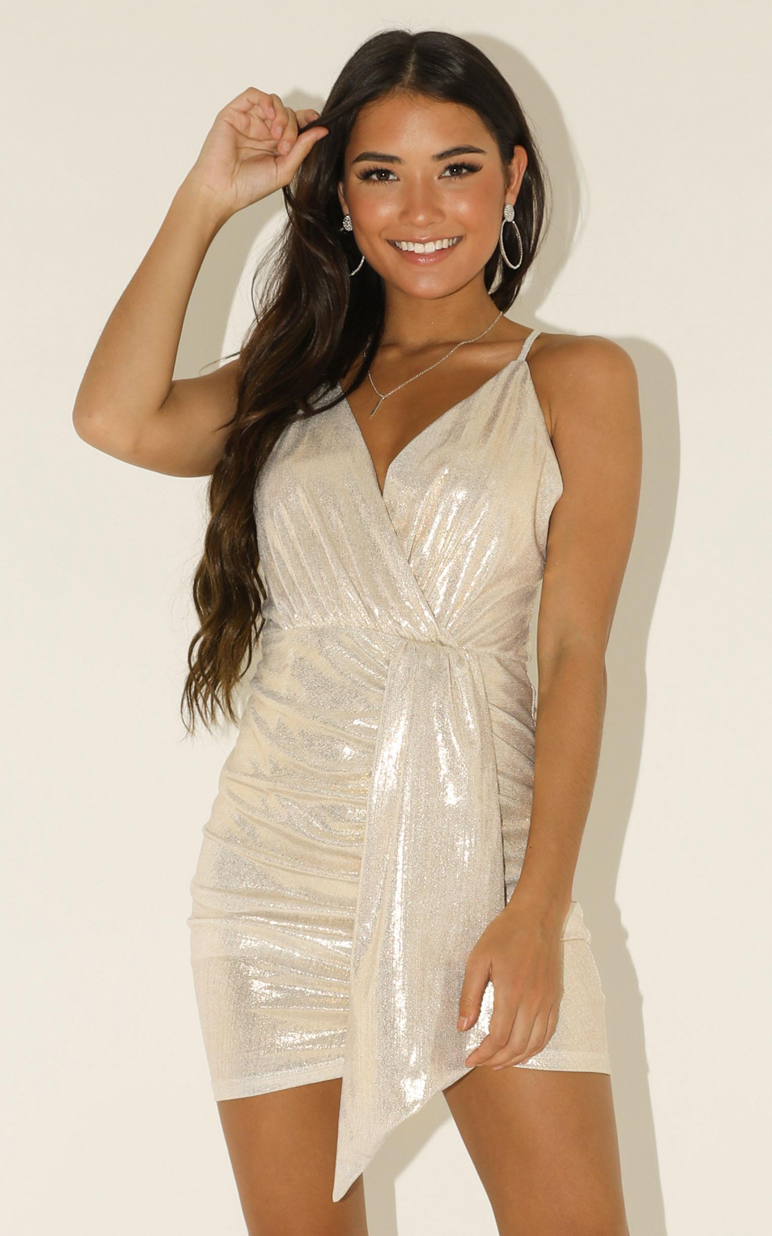 Survival Mode dress in silver - 12 (L), Silver, hi-res image number null