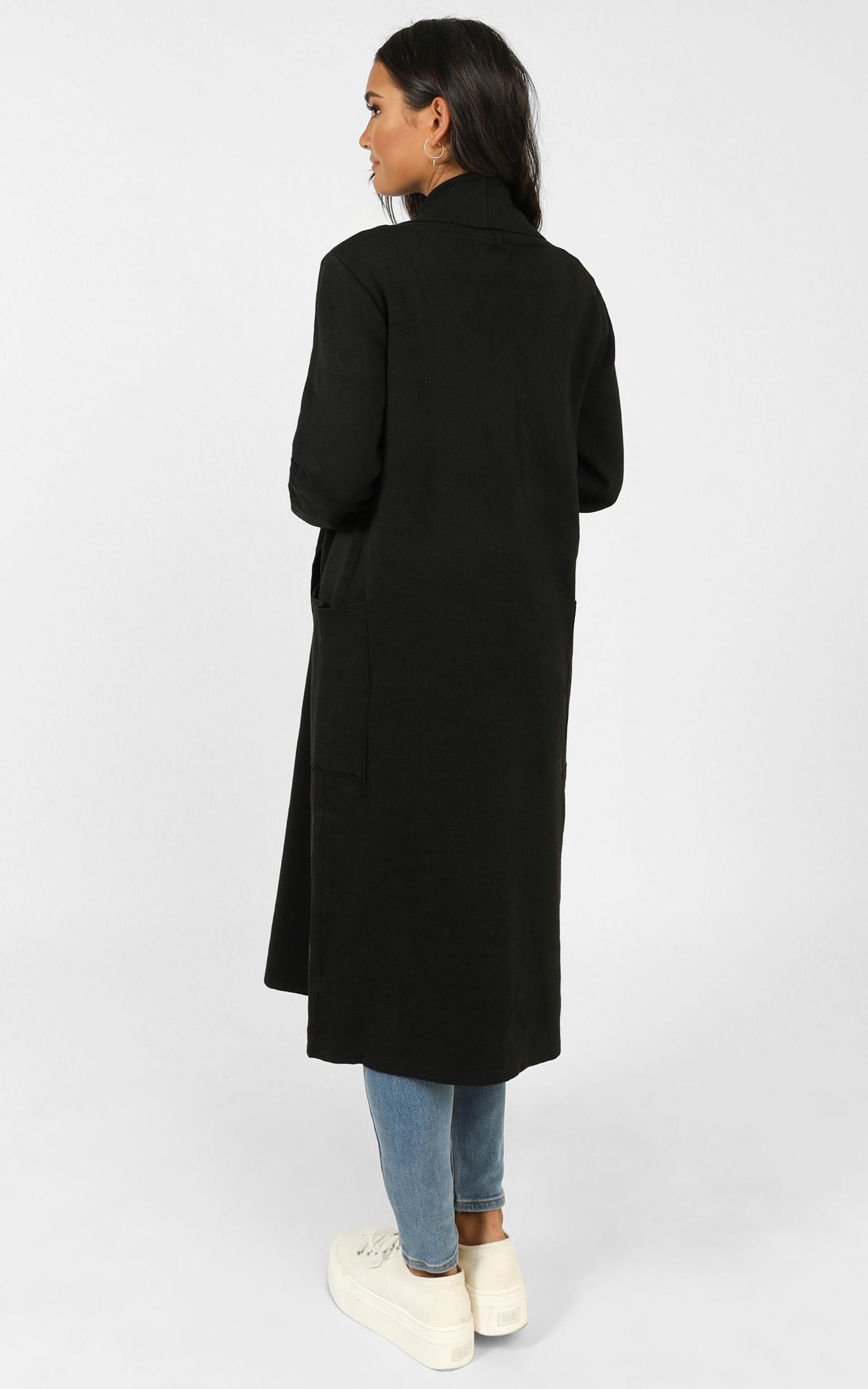 Around The World coat in black - M/L, Black, hi-res image number null