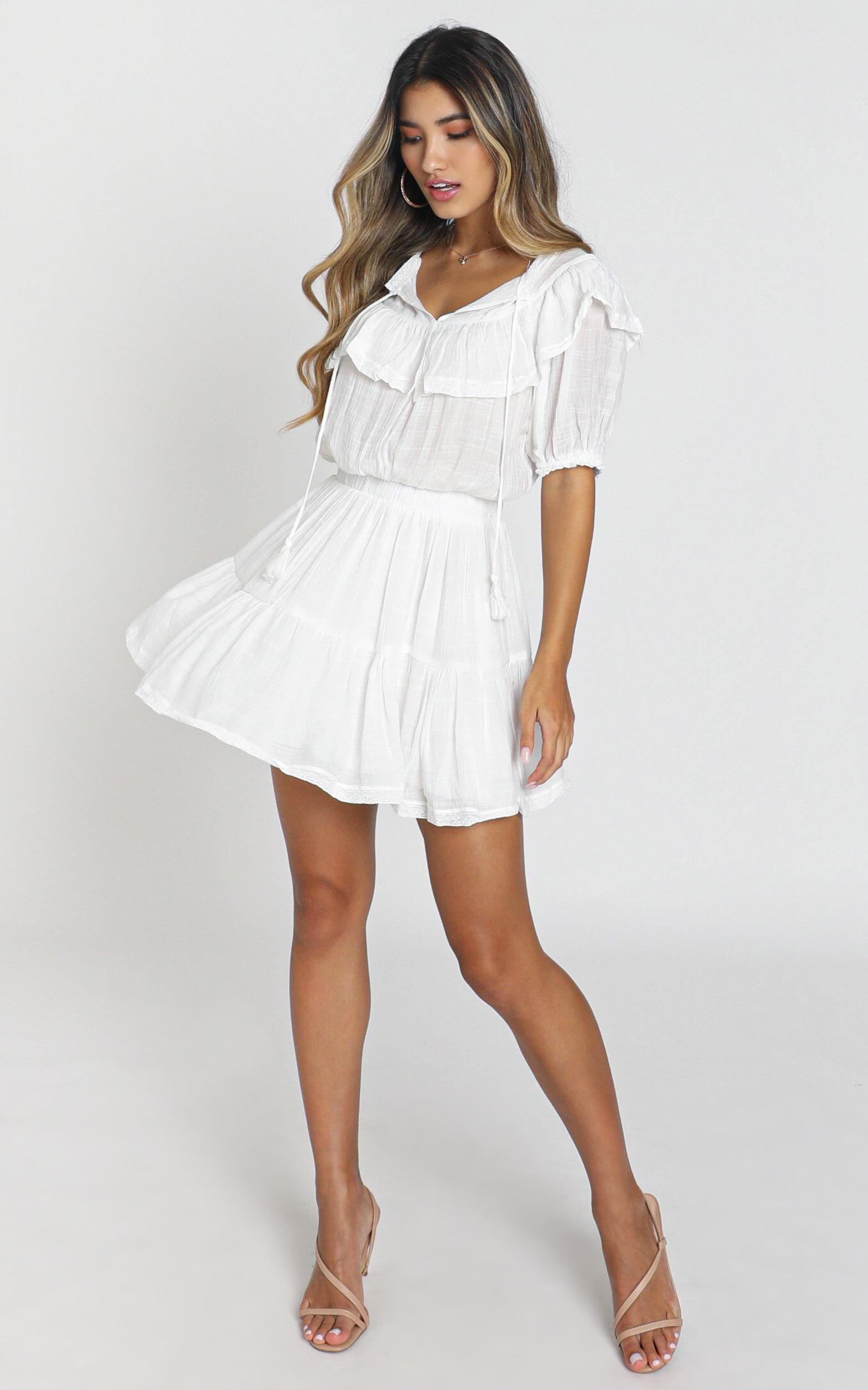 Poughkeepsie Dress in white - 8 (S), White, hi-res image number null