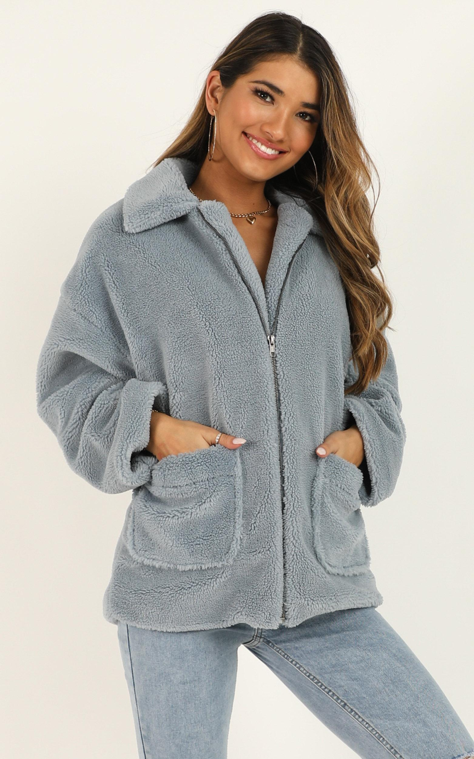 Forever Lasting Jacket in blue - 20 (XXXXL), Blue, hi-res image number null